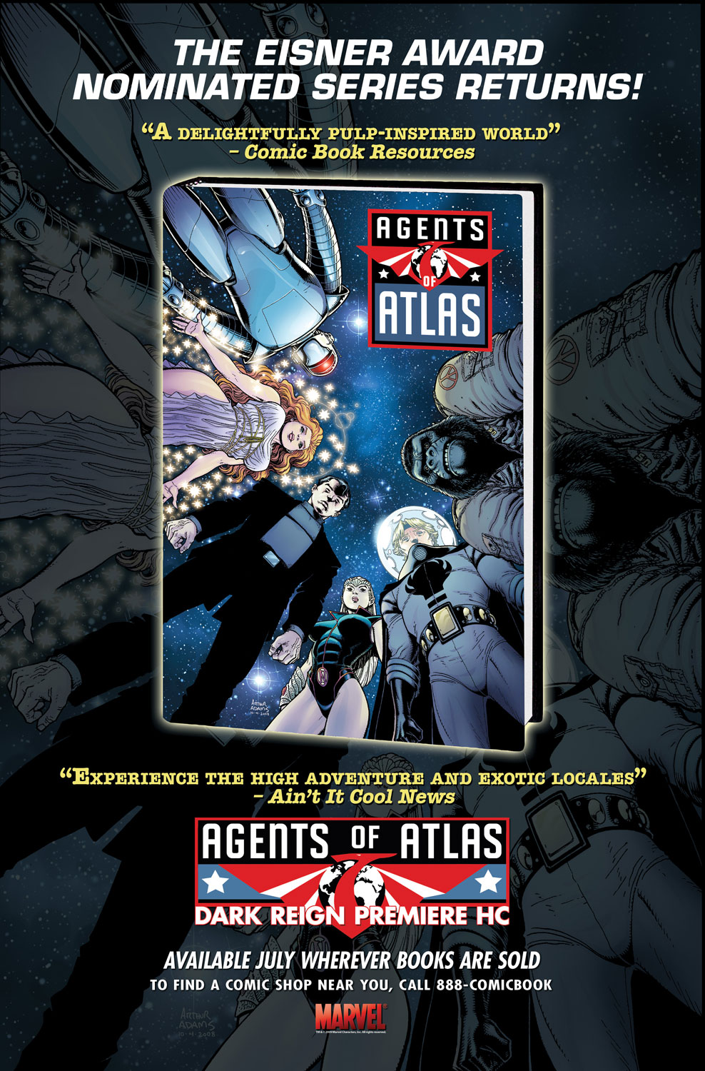 Read online Agents Of Atlas (2009) comic -  Issue #0 - 26