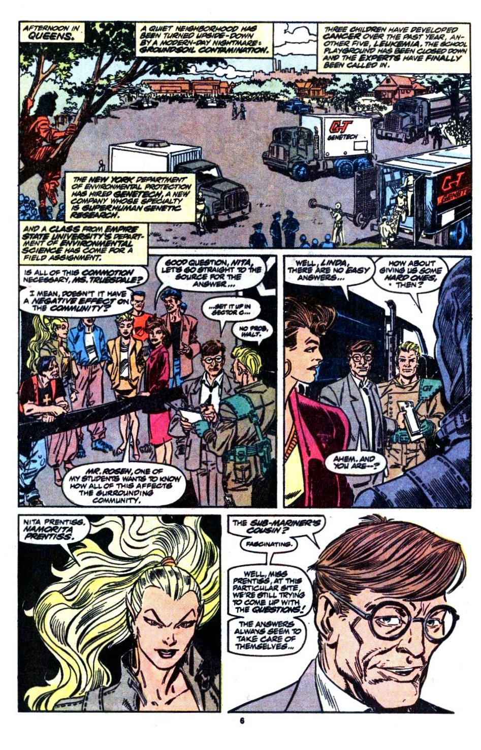 The New Warriors Issue #1 #5 - English 6