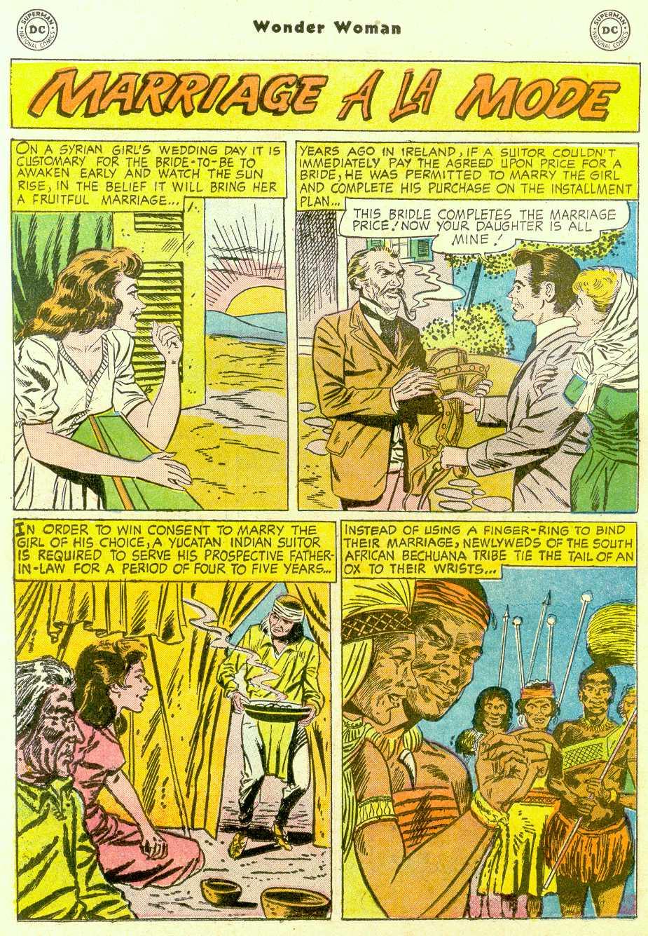 Read online Wonder Woman (1942) comic -  Issue #96 - 23
