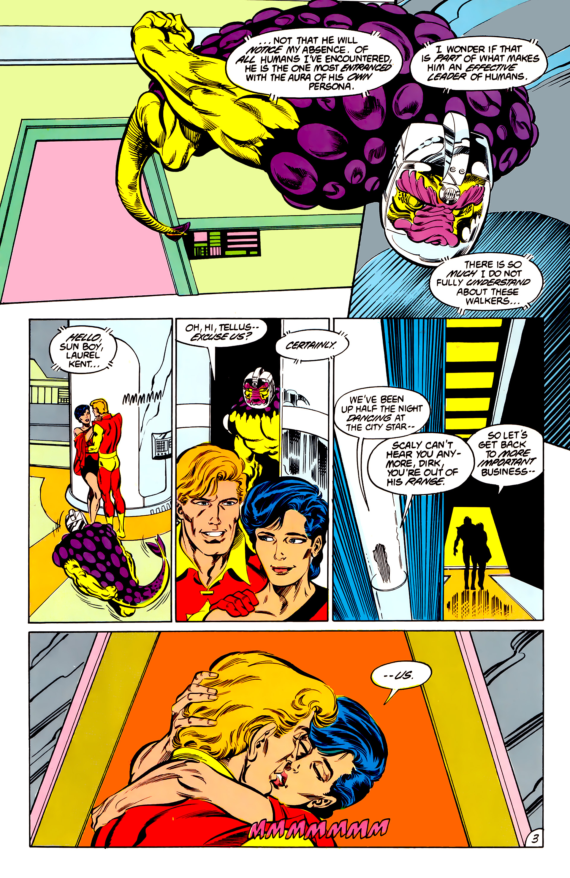 Legion of Super-Heroes (1984) 42 Page 3