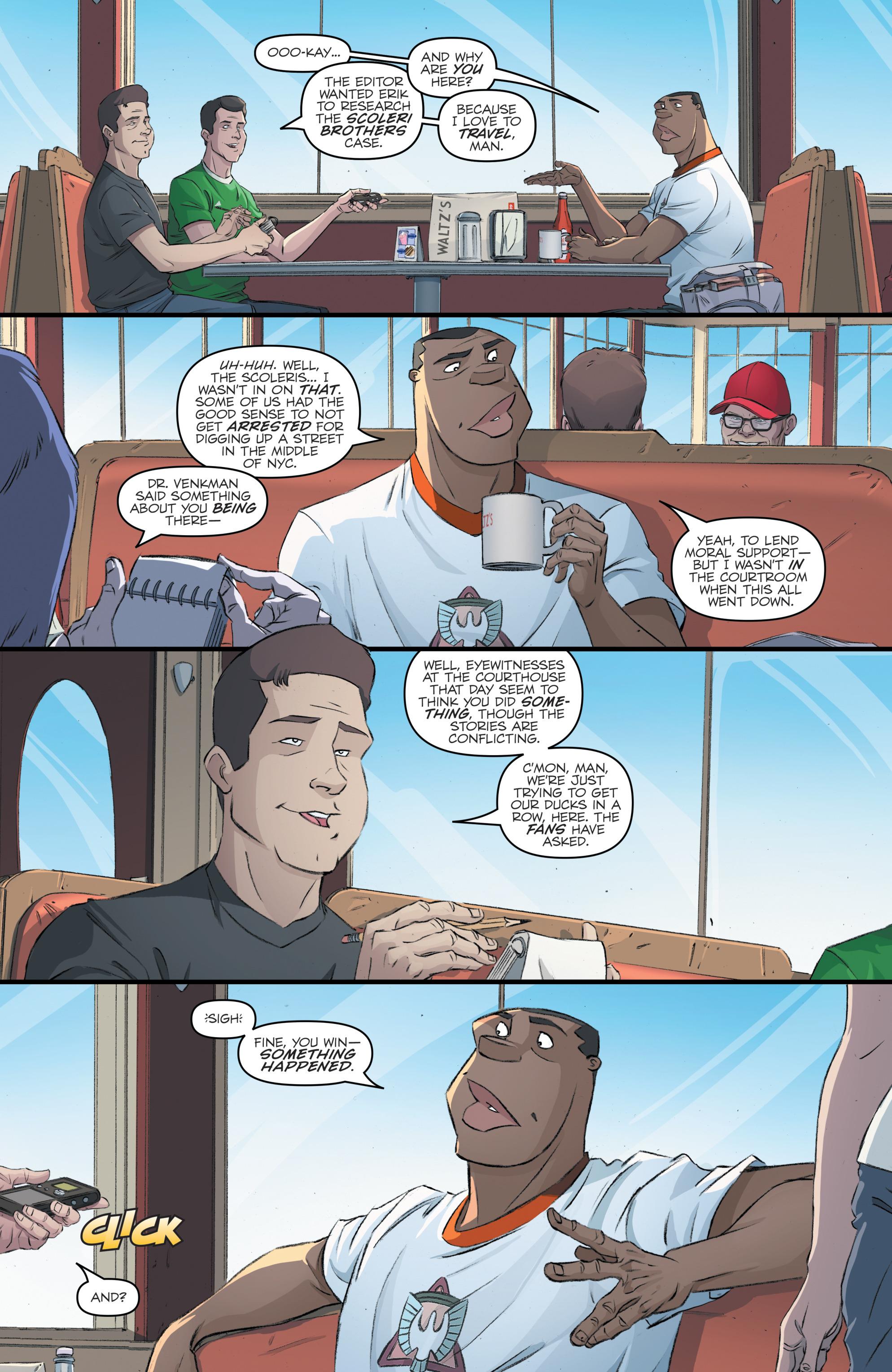 Read online Batman/Teenage Mutant Ninja Turtles Adventure comic -  Issue #4 - 26