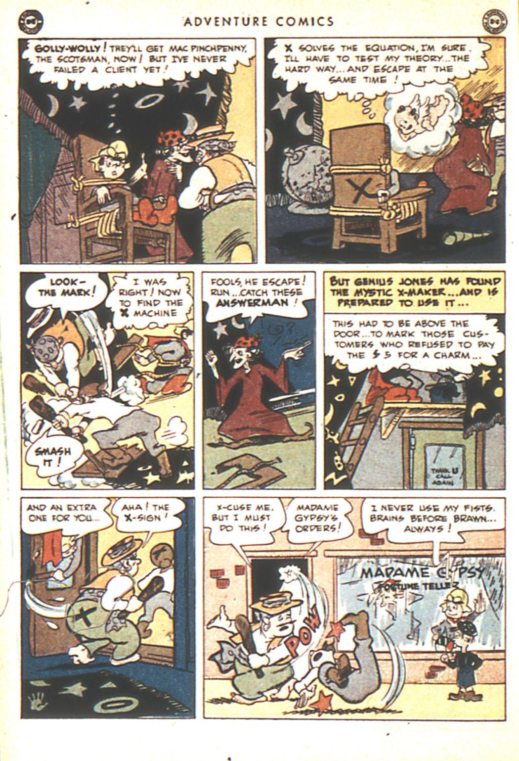 Read online Adventure Comics (1938) comic -  Issue #92 - 16