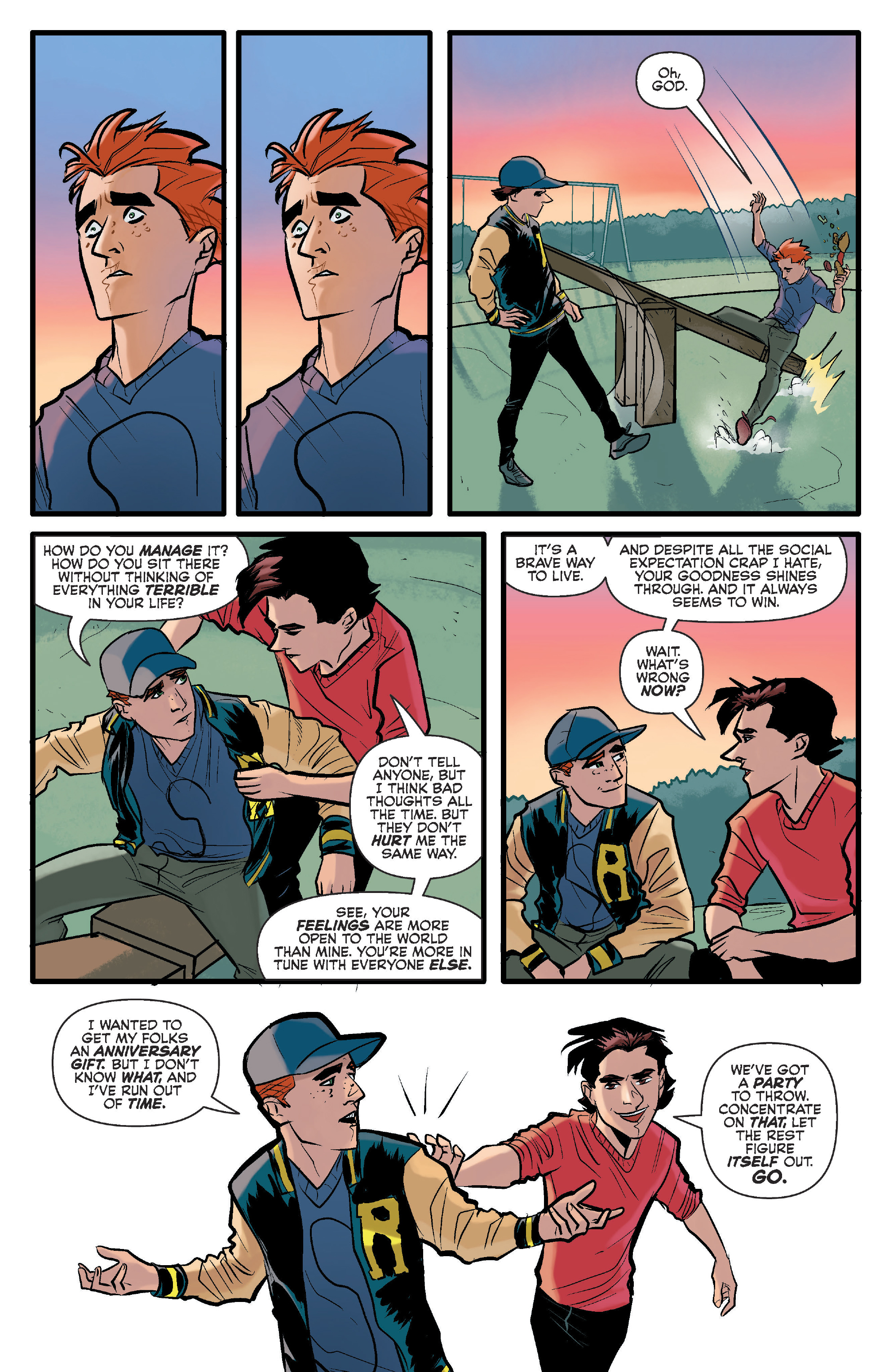 Read online Archie (2015) comic -  Issue #15 - 7