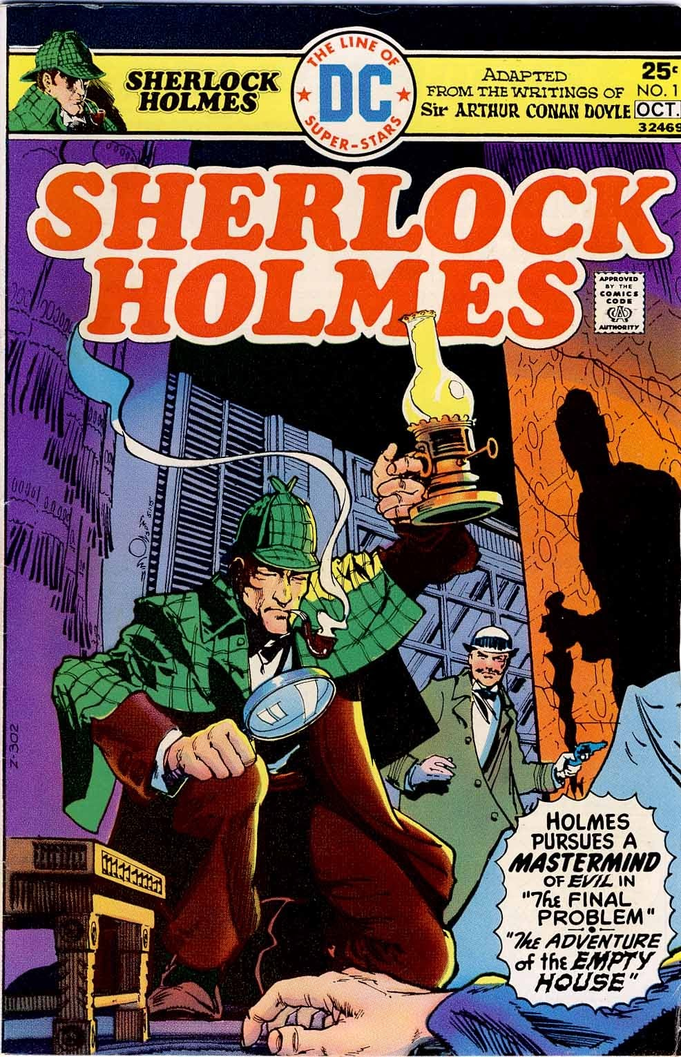 Sherlock Holmes (1975) Full Page 1