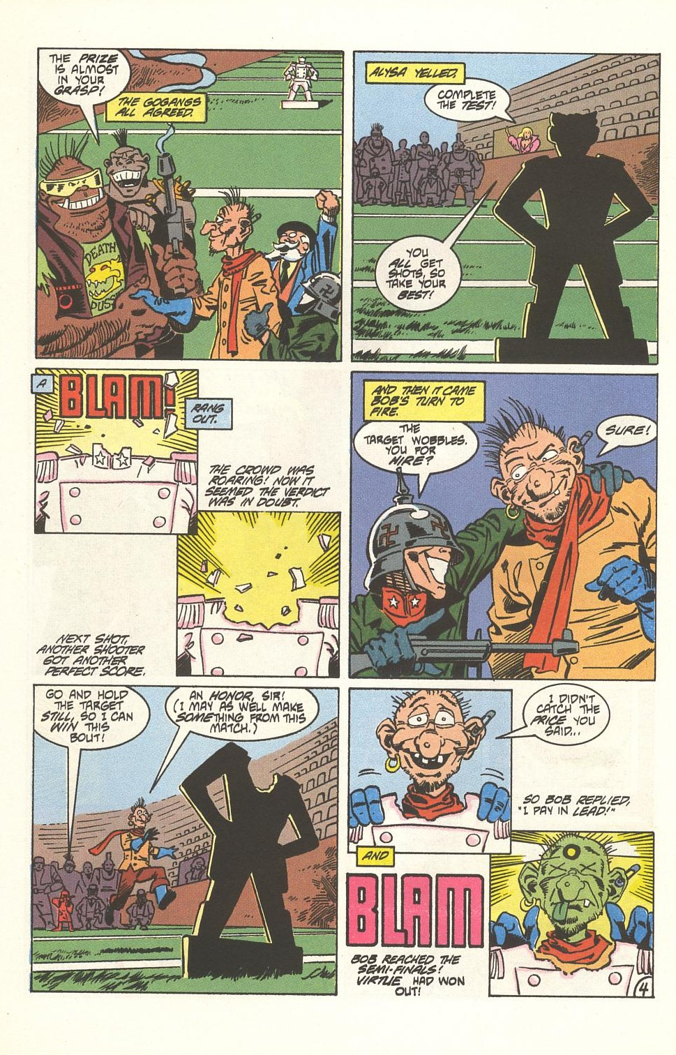Read online American Flagg! comic -  Issue #33 - 30