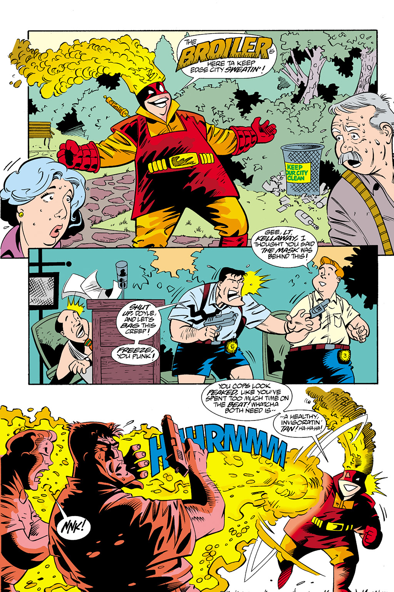 Read online Adventures Of The Mask Omnibus comic -  Issue #Adventures Of The Mask Omnibus Full - 240