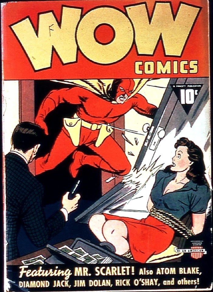 Wow Comics 1 Page 1