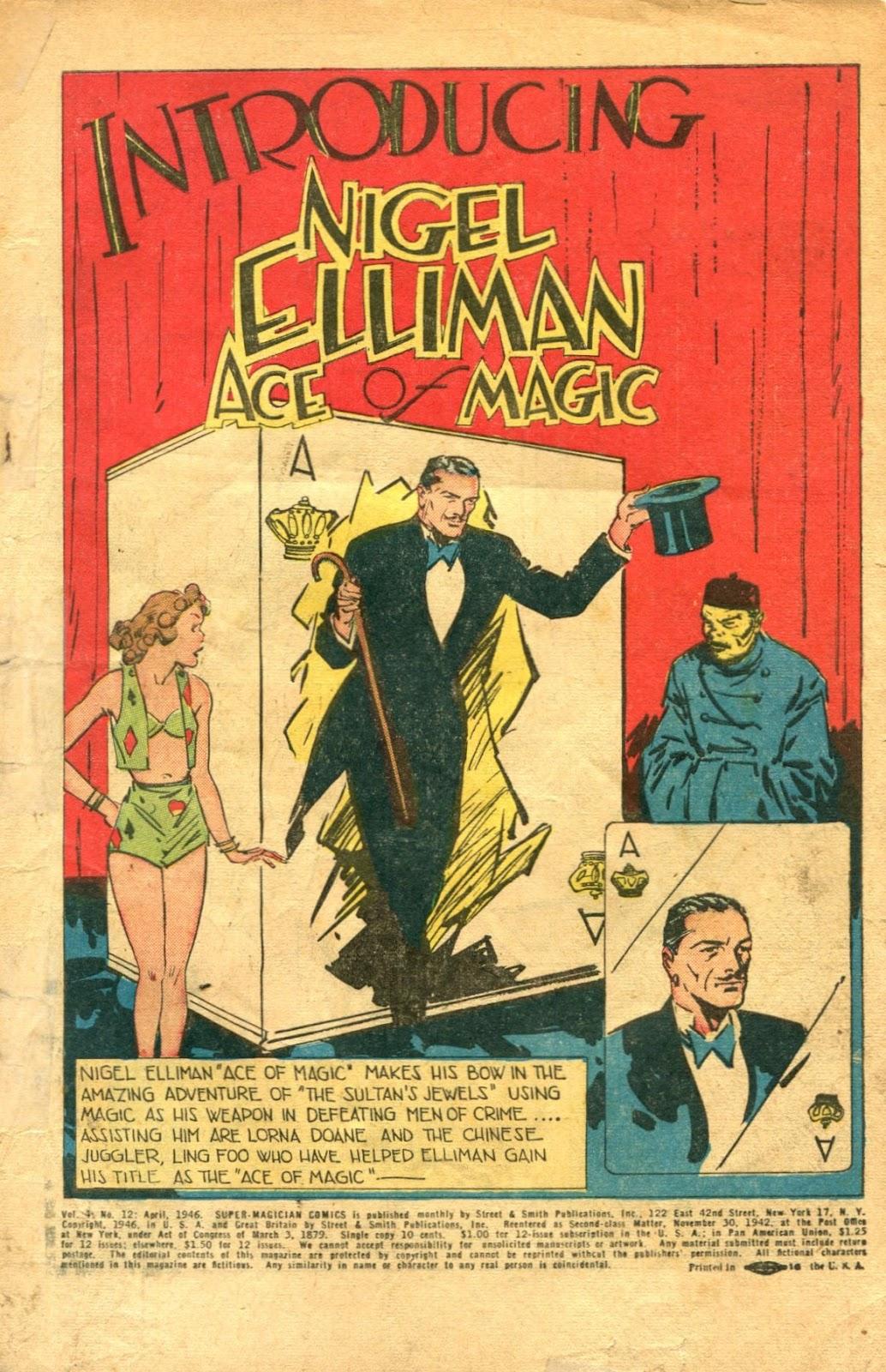 Read online Super-Magician Comics comic -  Issue #48 - 3