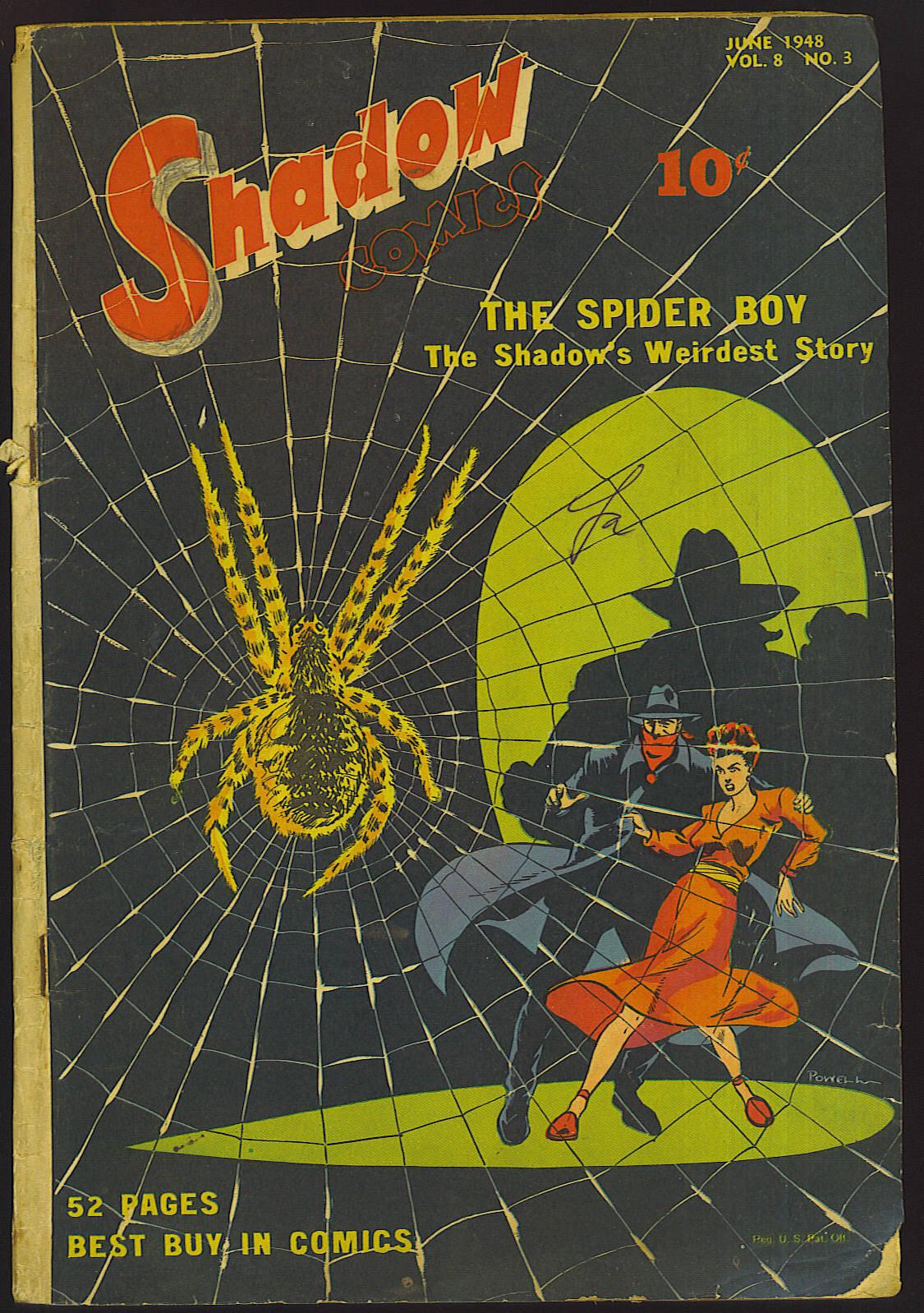 Read online Shadow Comics comic -  Issue #87 - 1