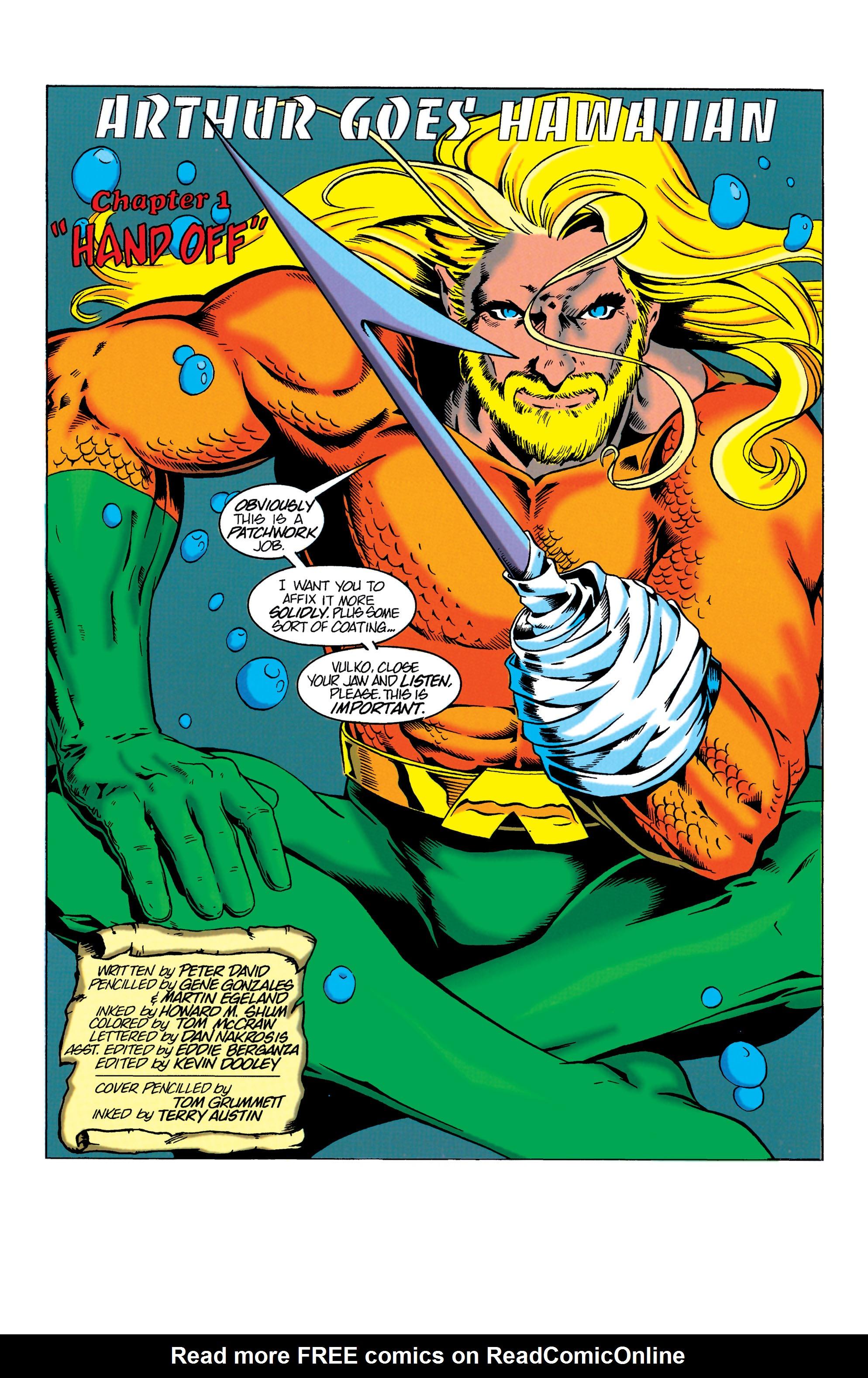 Read online Aquaman (1994) comic -  Issue #3 - 2