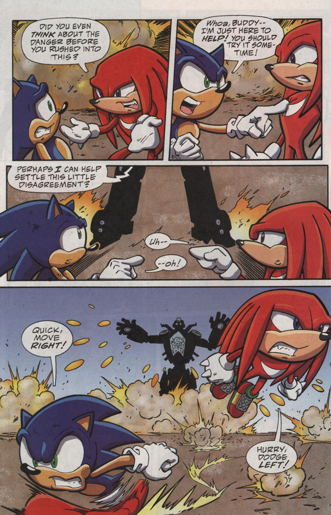 Read online Sonic X comic -  Issue #20 - 28