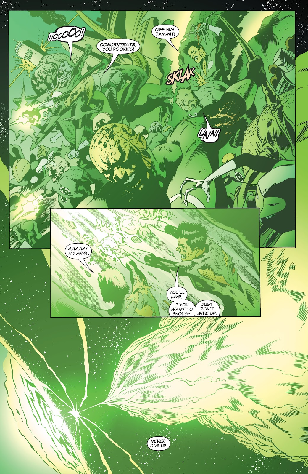 Read online Green Lantern by Geoff Johns comic -  Issue # TPB 1 (Part 3) - 85