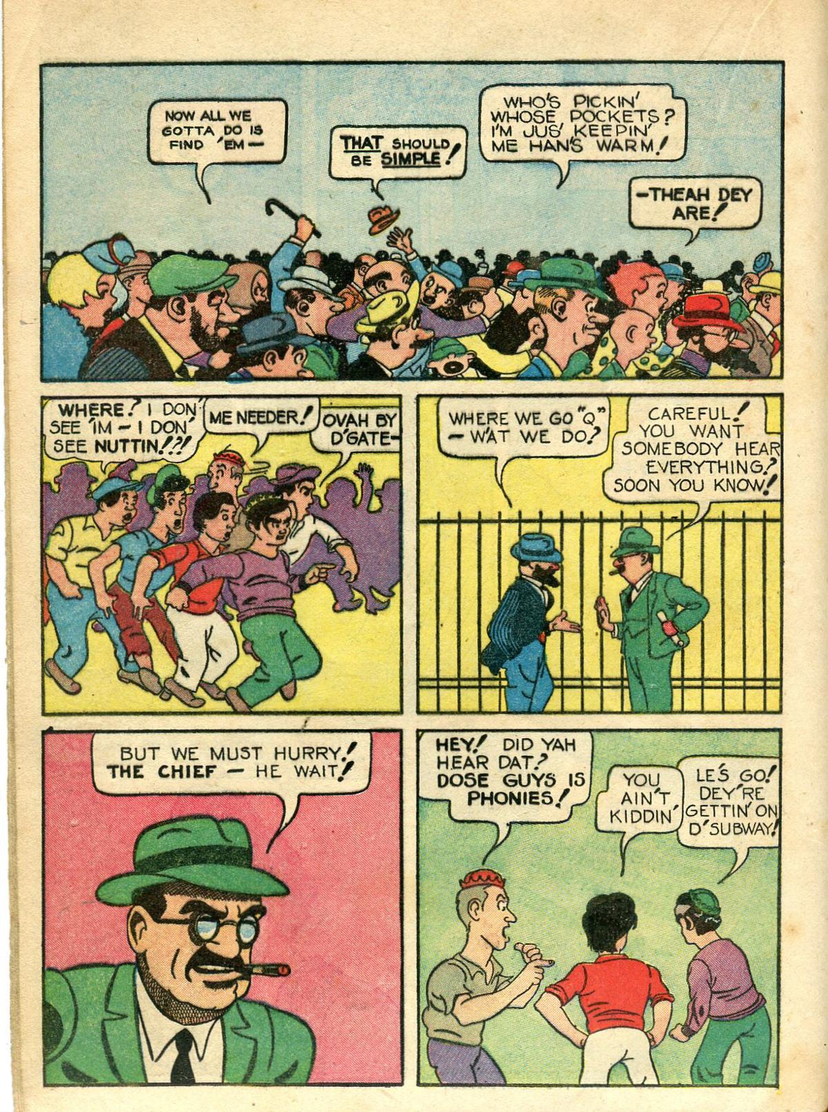 Read online Shadow Comics comic -  Issue #10 - 30