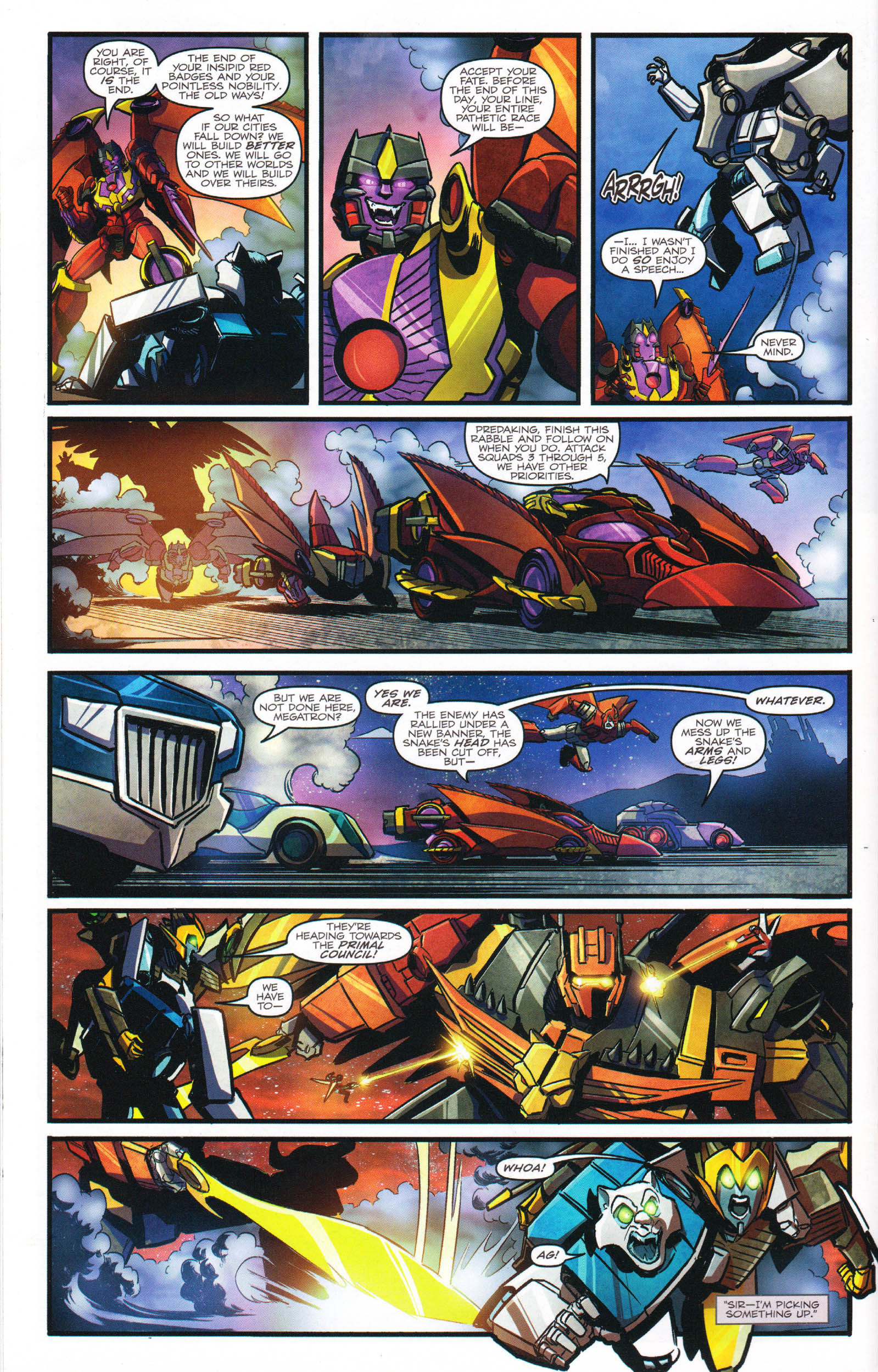 Read online Transformers: Dawn of the Predacus comic -  Issue # Full - 13