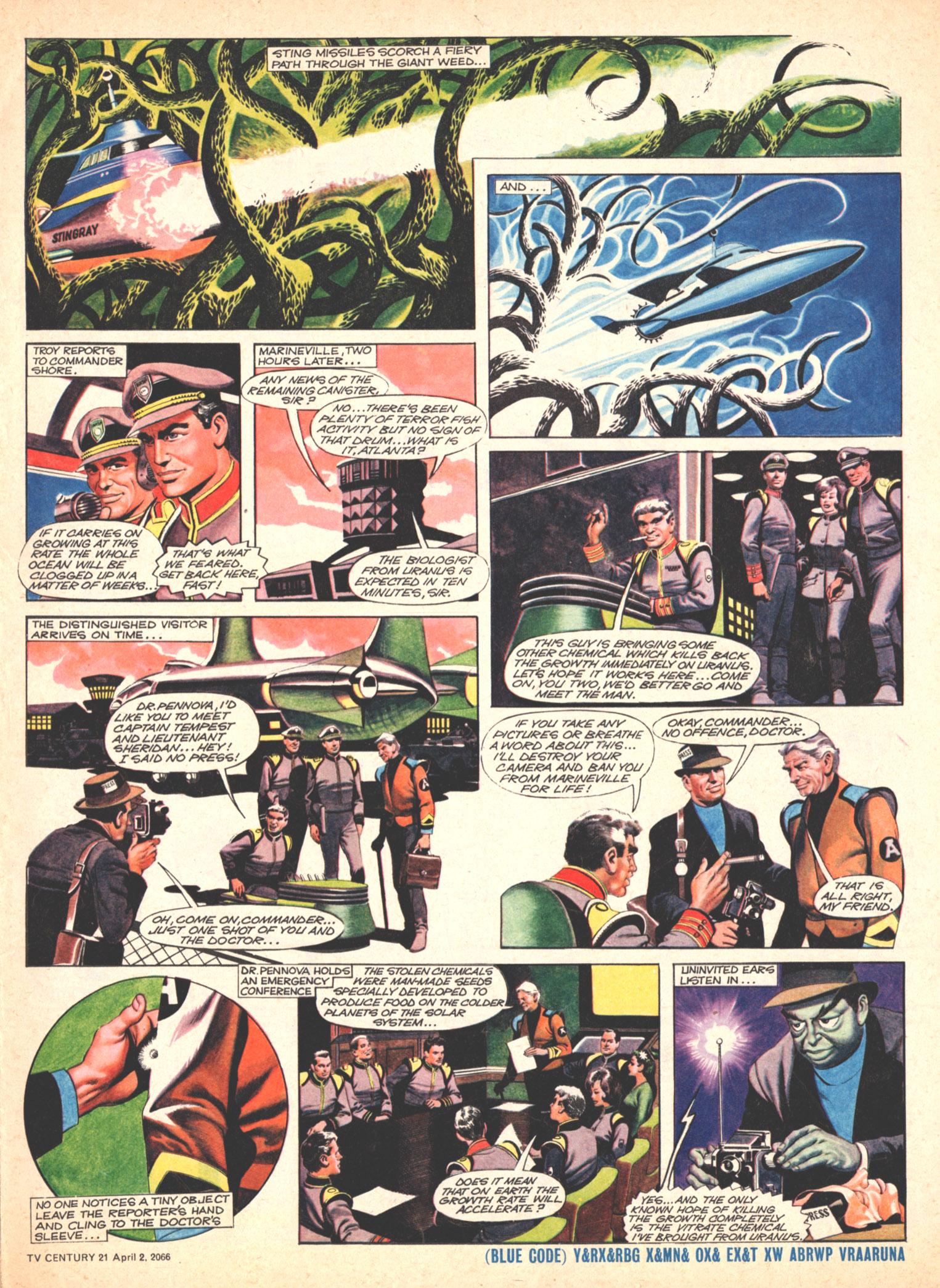 Read online TV Century 21 (TV 21) comic -  Issue #63 - 5