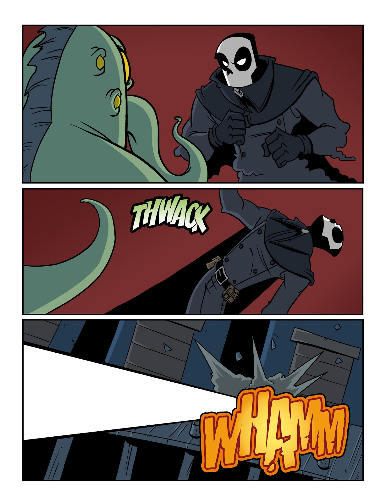 Read online The Haunter comic -  Issue #2 - 12