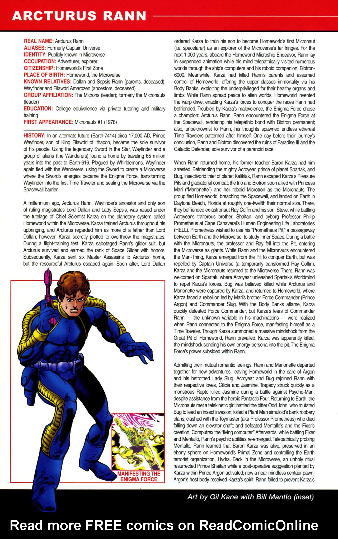 Read online All-New Official Handbook of the Marvel Universe A to Z: Update comic -  Issue #4 - 32