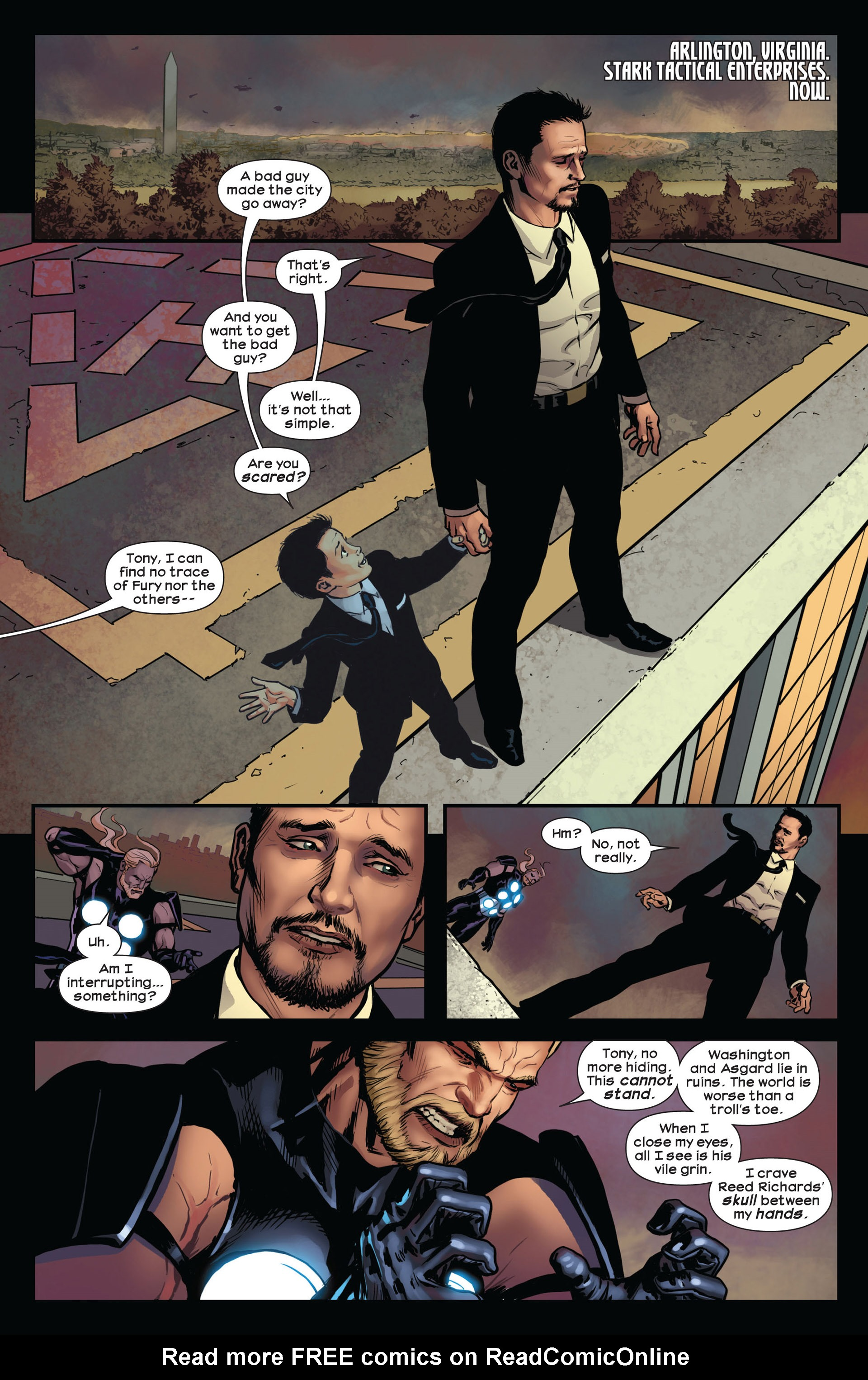Read online Ultimate Comics Ultimates comic -  Issue #10 - 14