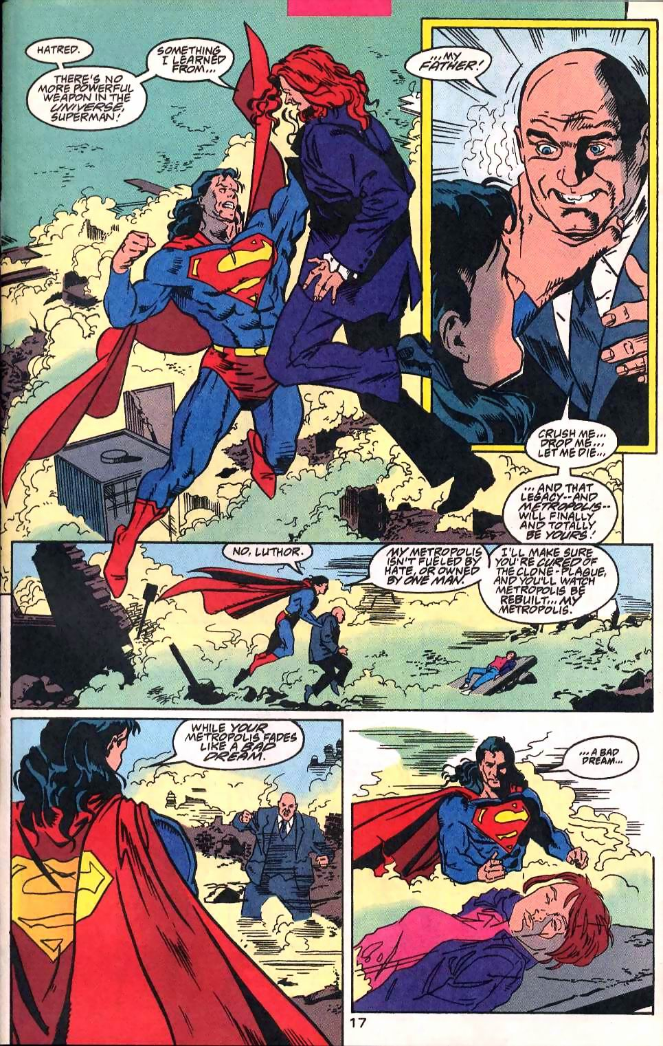 Read online Adventures of Superman (1987) comic -  Issue #514 - 18