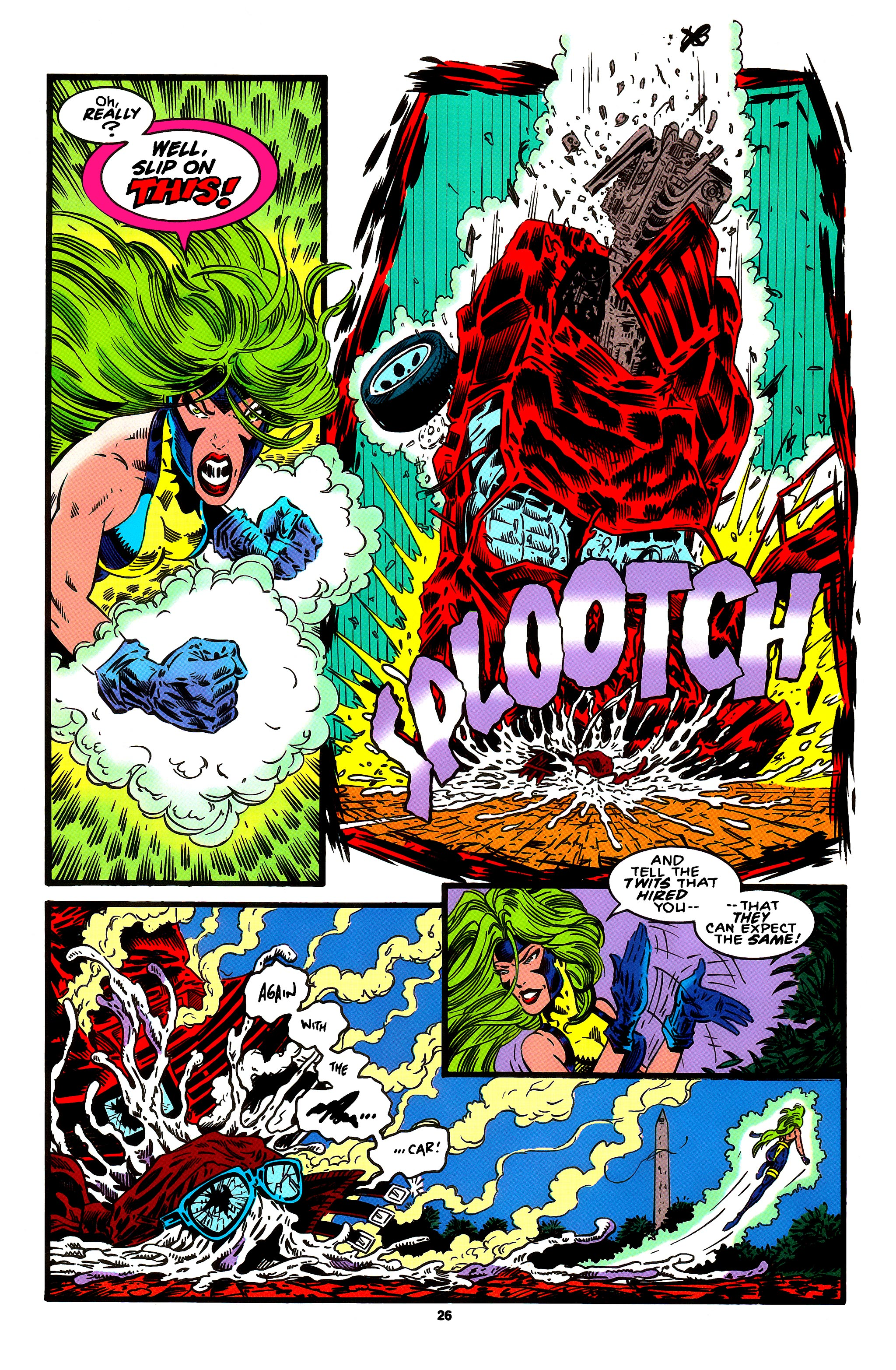 Read online X-Factor (1986) comic -  Issue #95 - 16