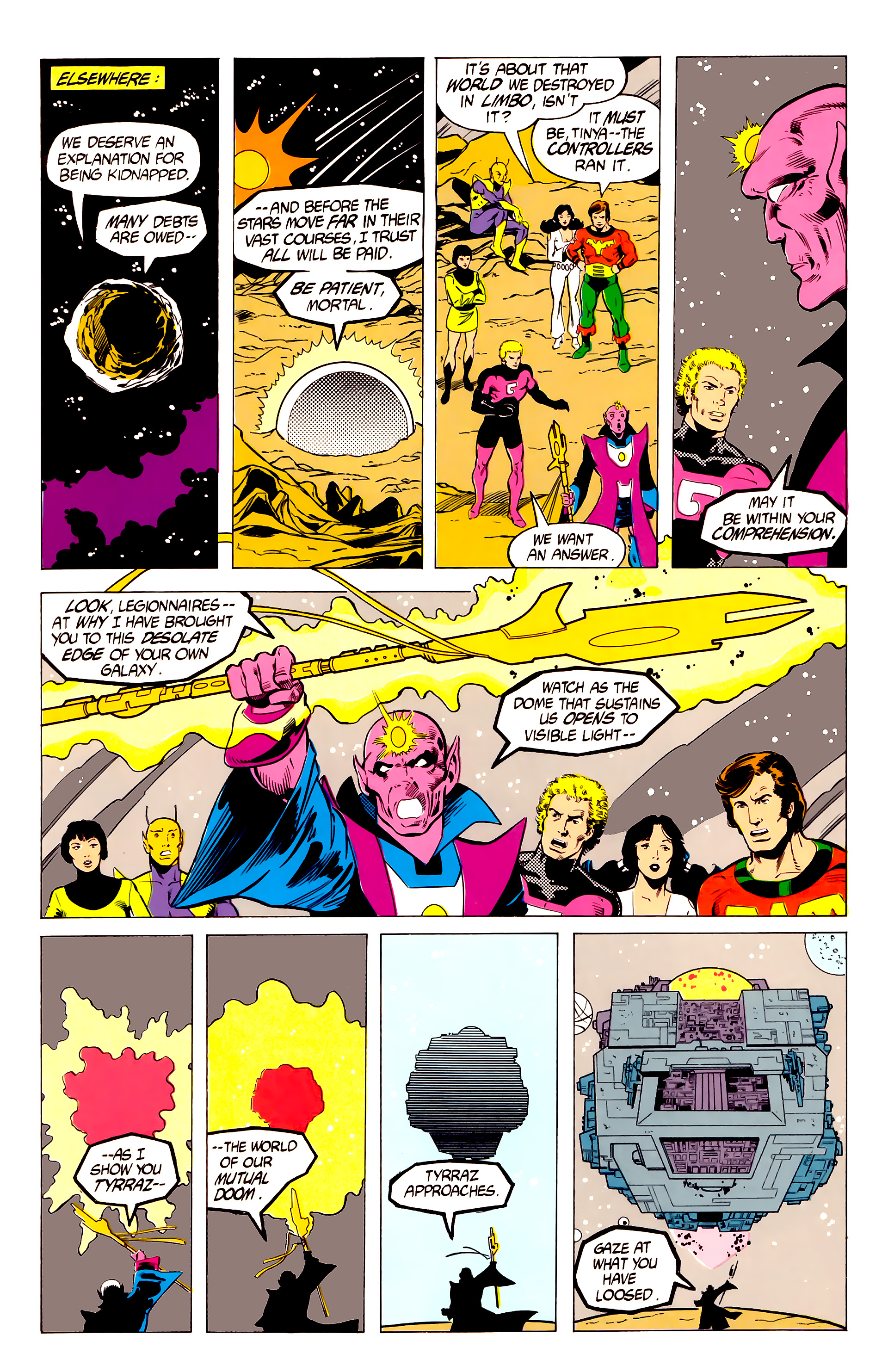 Legion of Super-Heroes (1984) 19 Page 10