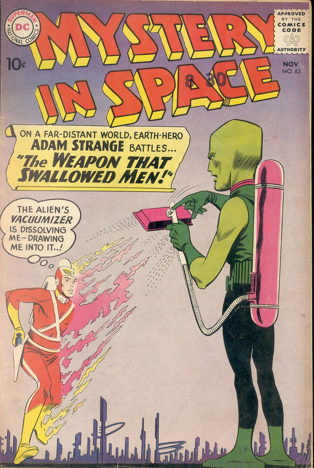 Mystery in Space (1951) issue 63 - Page 1