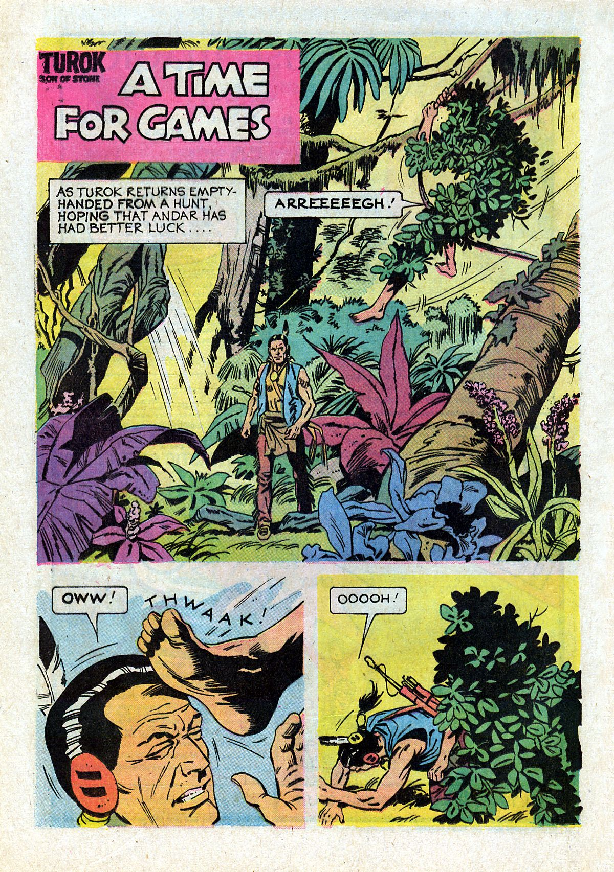 Read online Turok, Son of Stone comic -  Issue #93 - 20