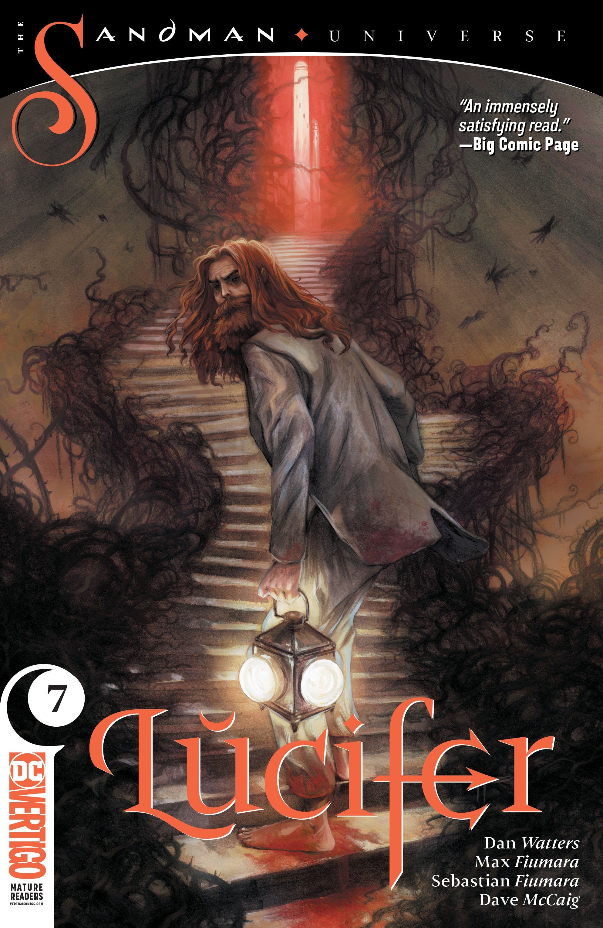 Read online Lucifer (2018) comic -  Issue #7 - 1