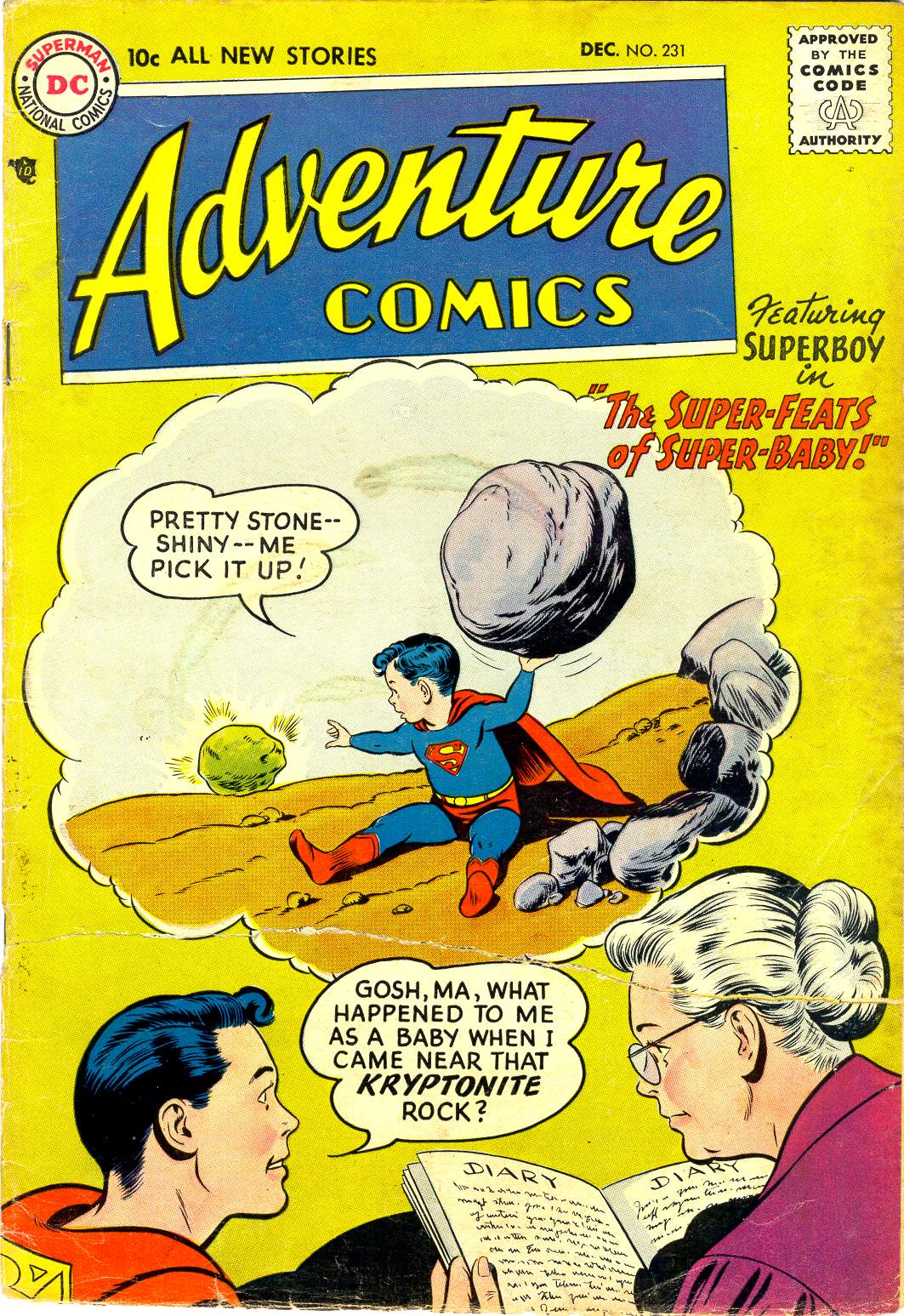 Read online Adventure Comics (1938) comic -  Issue #231 - 2