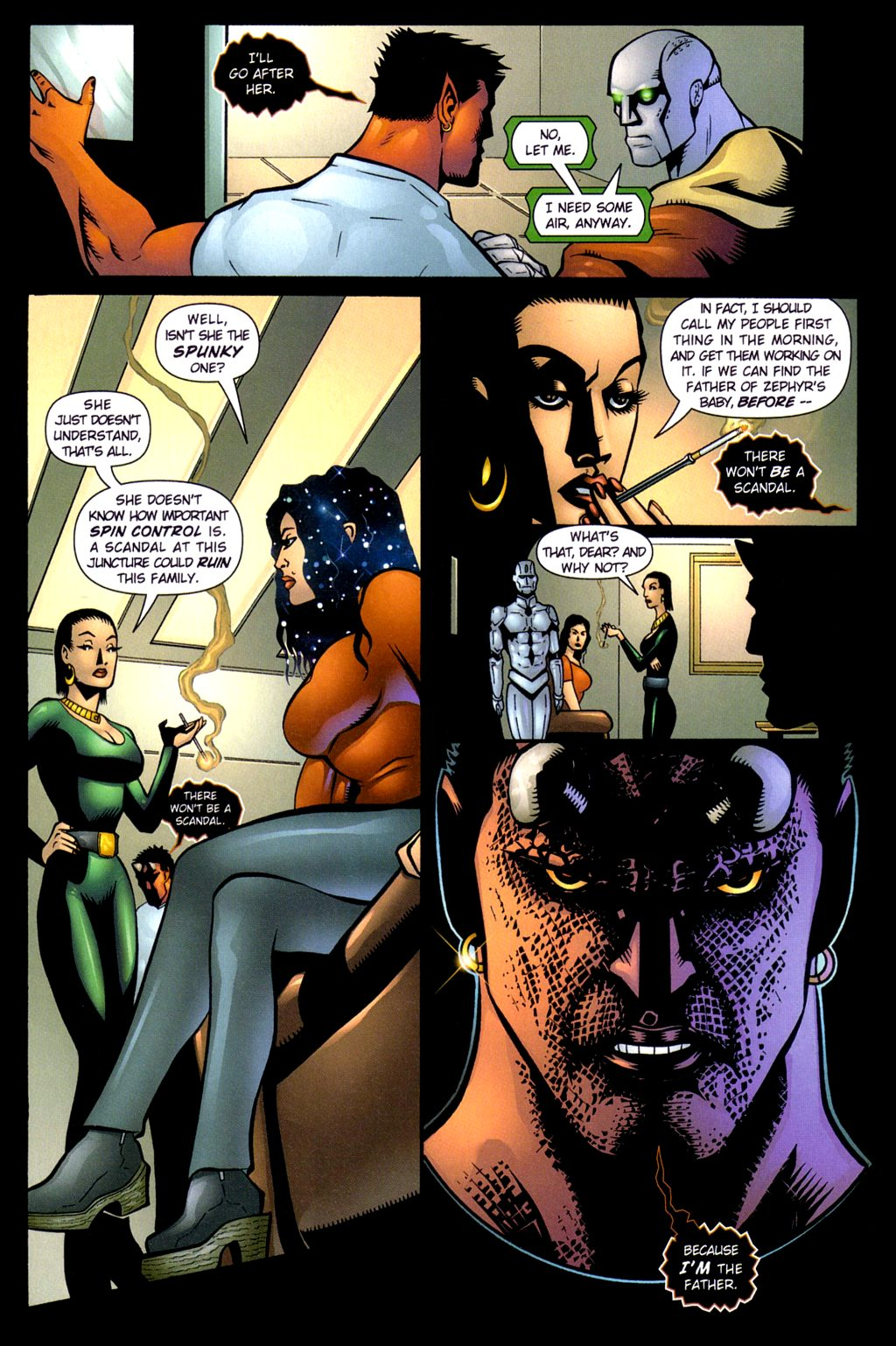 Read online Noble Causes (2002) comic -  Issue #3 - 14
