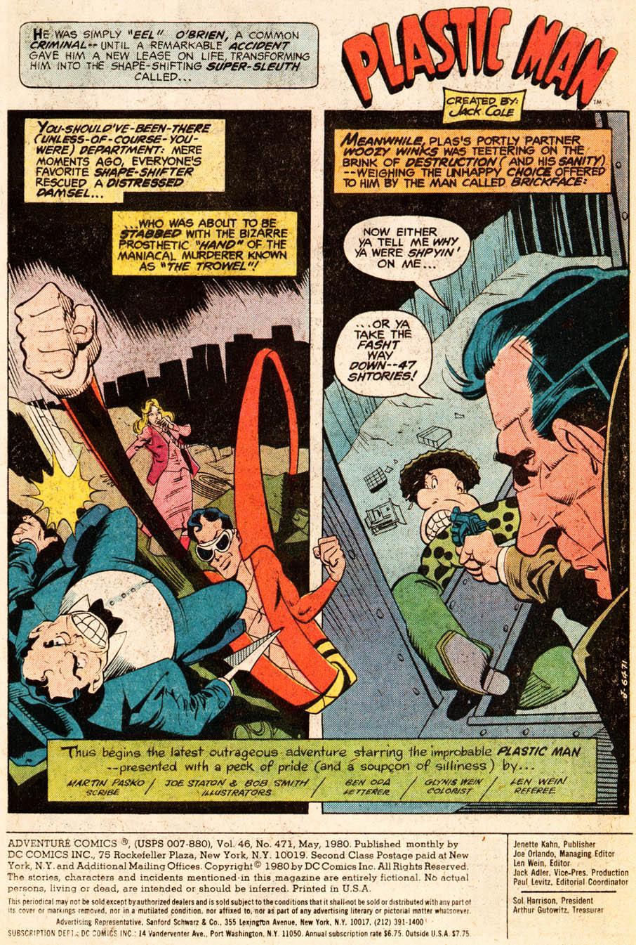 Read online Adventure Comics (1938) comic -  Issue #471 - 2