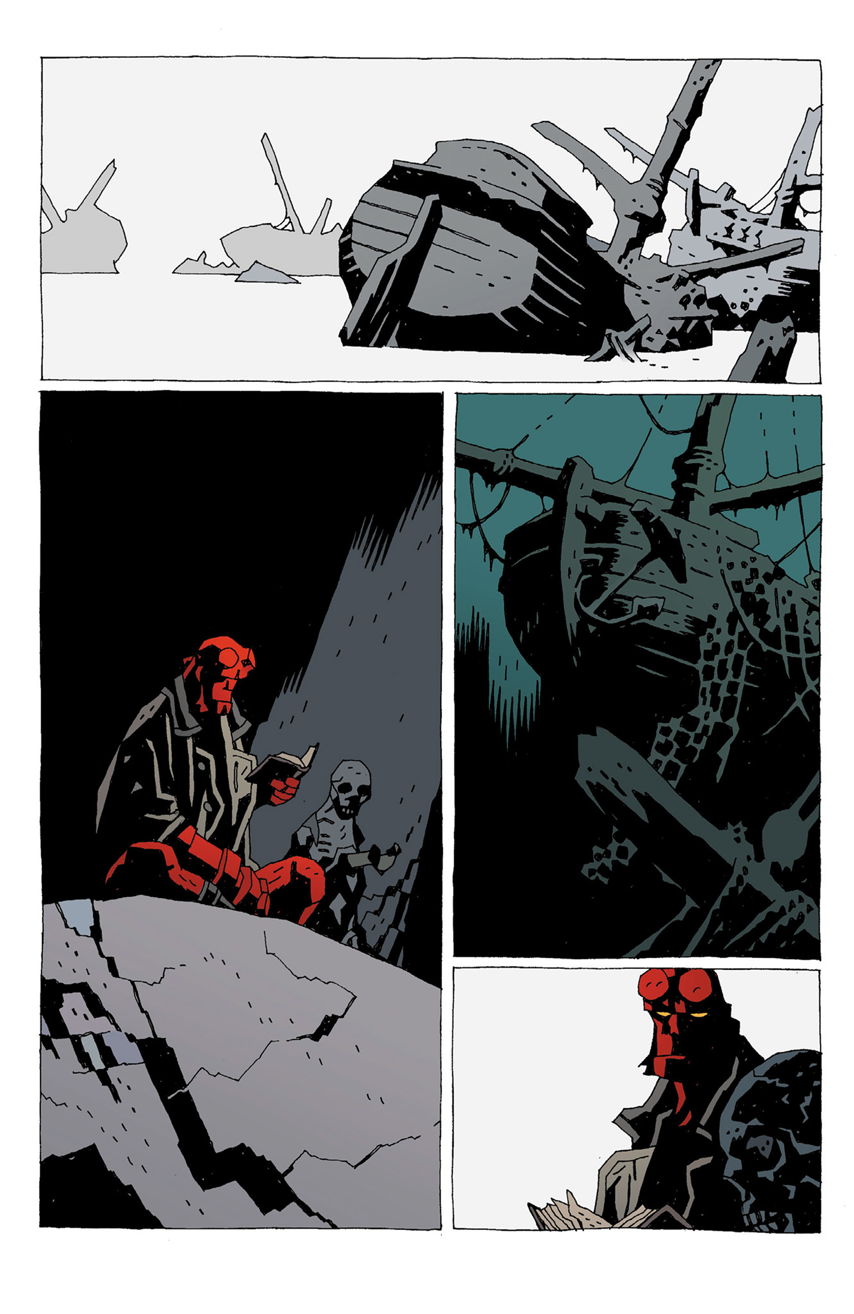 Read online Hellboy: Strange Places comic -  Issue # TPB - 138