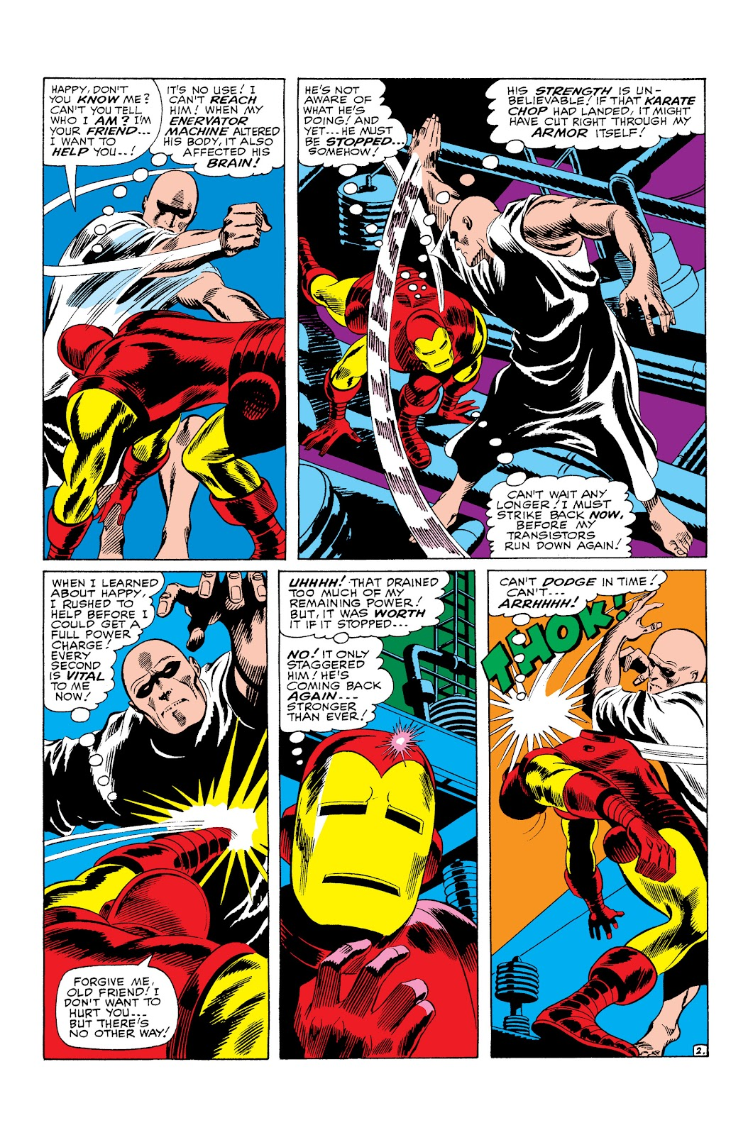 Read online Marvel Masterworks: The Invincible Iron Man comic -  Issue # TPB 3 (Part 3) - 12