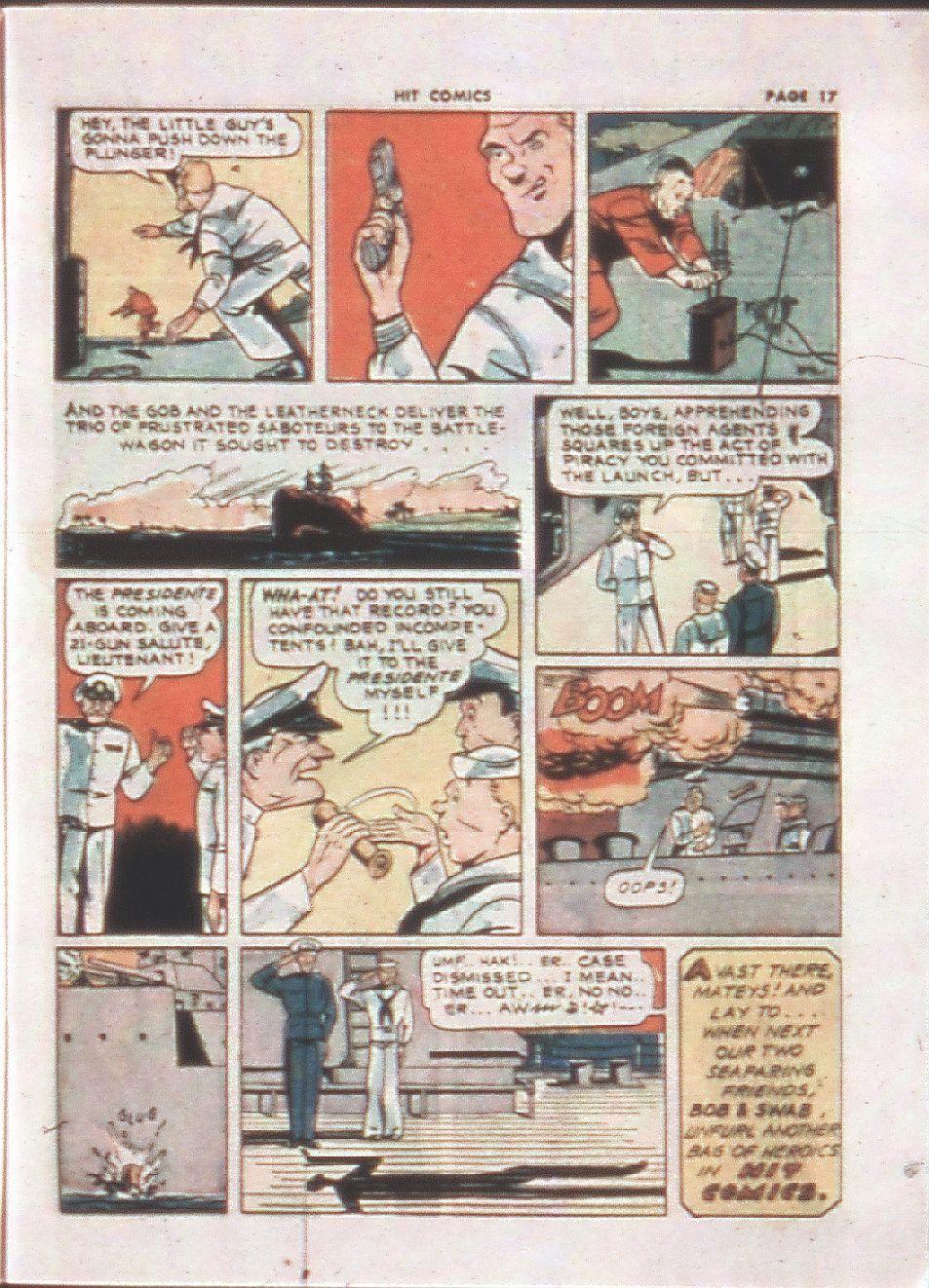 Read online Hit Comics comic -  Issue #21 - 19