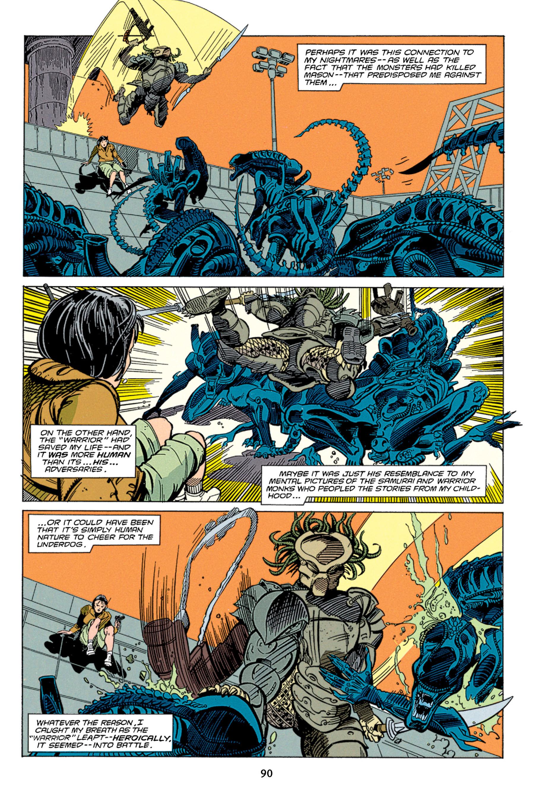Read online Aliens vs. Predator Omnibus comic -  Issue # _TPB 1 Part 1 - 90