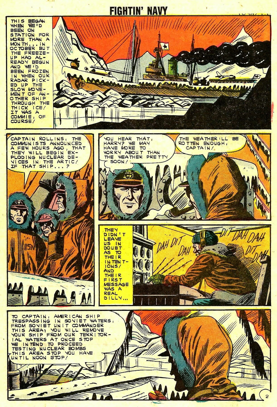 Read online Fightin' Navy comic -  Issue #109 - 16