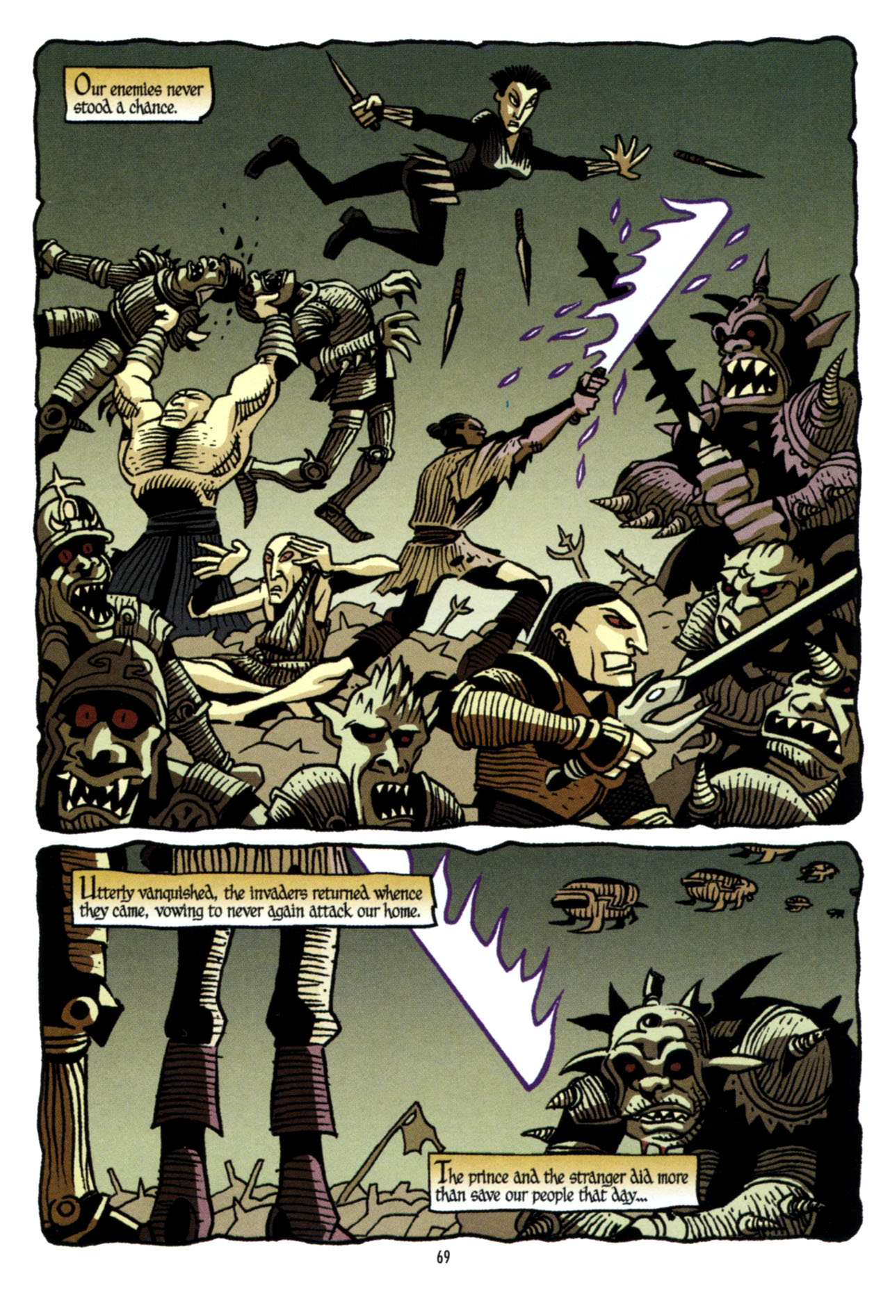 Read online Star Wars: The Clone Wars - The Colossus of Destiny comic -  Issue # Full - 69