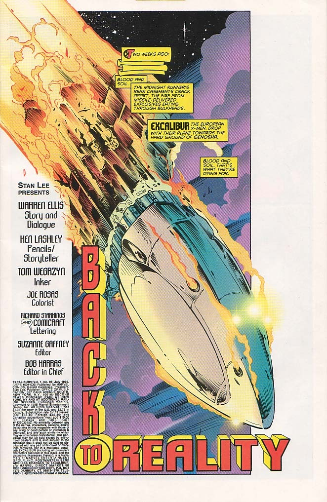 Excalibur (1988) issue 87 - Page 2