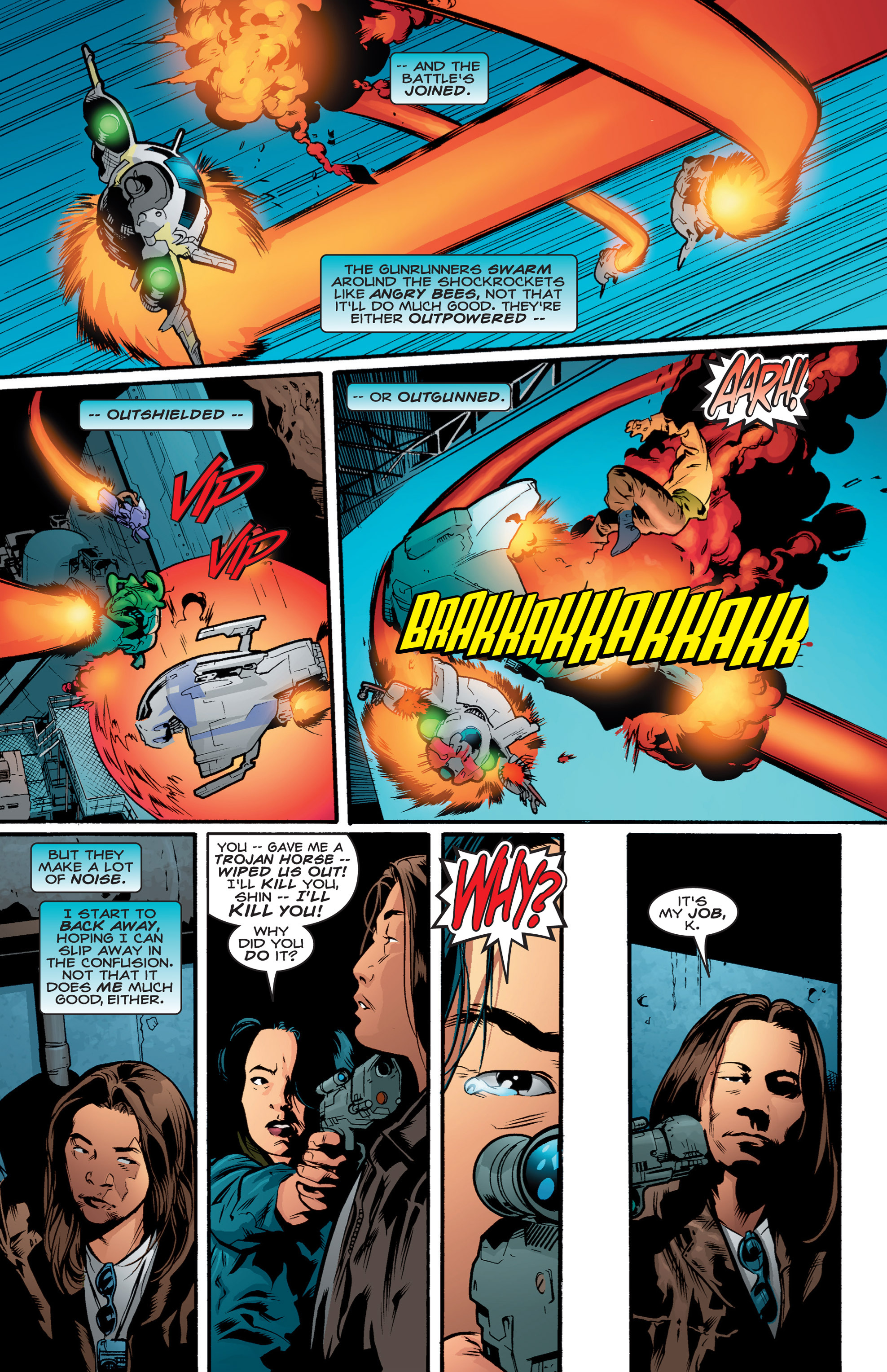 Read online Shockrockets comic -  Issue # TPB - 69