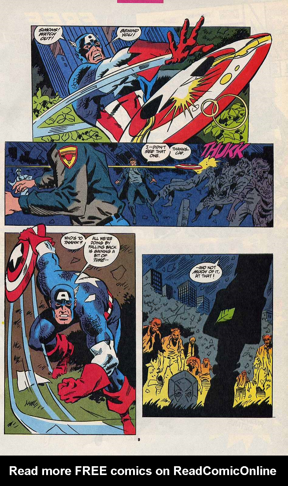 Read online Secret Defenders comic -  Issue #8 - 8