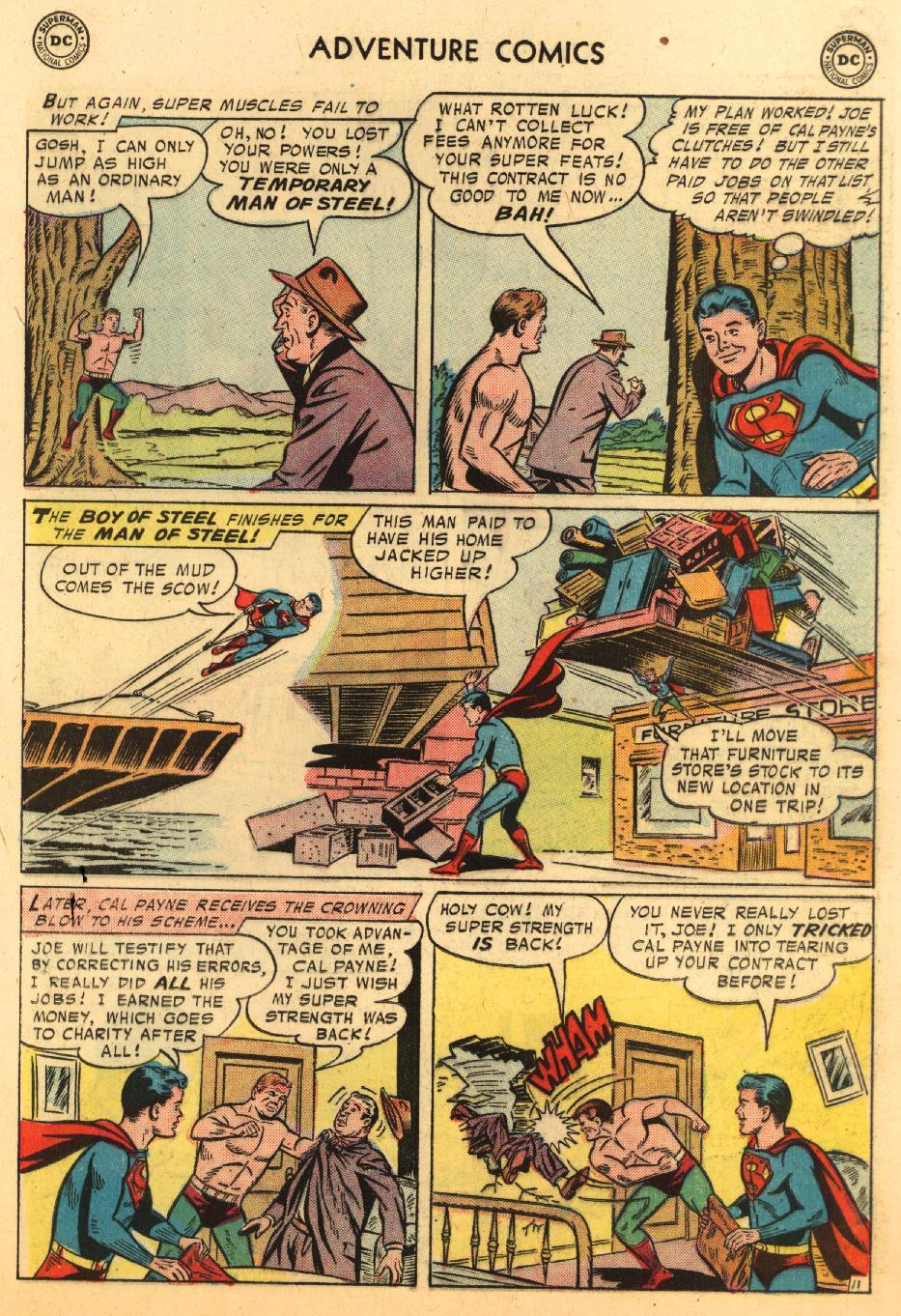 Read online Adventure Comics (1938) comic -  Issue #233 - 13