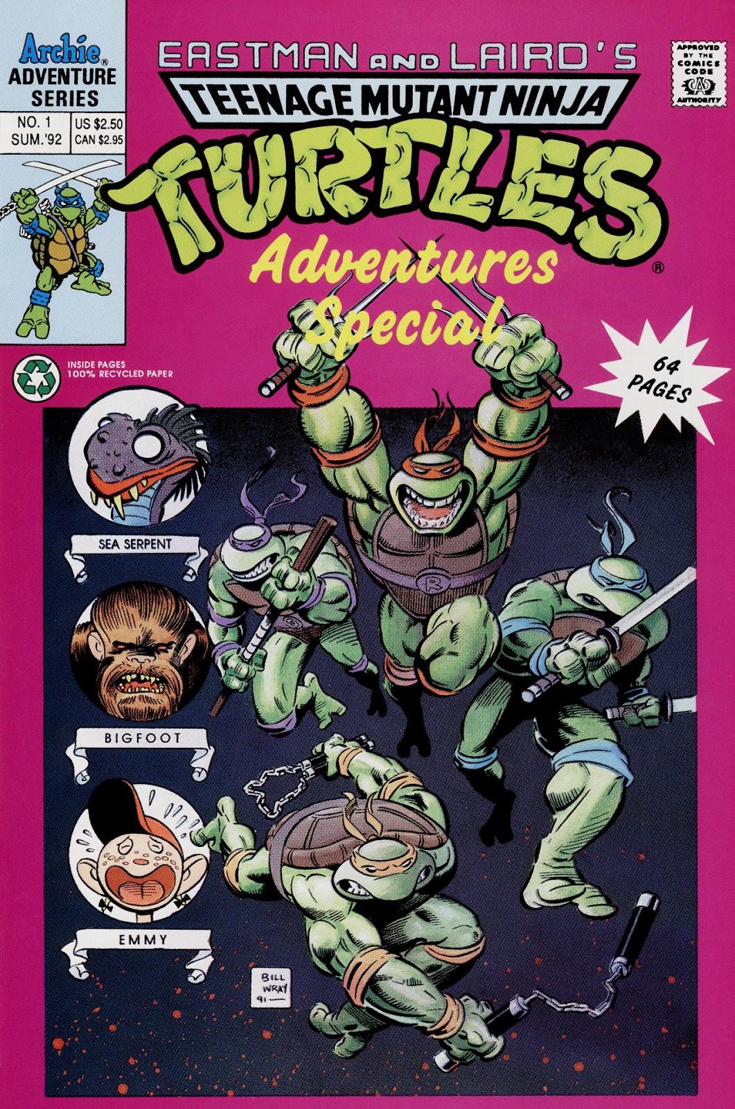 8d80b31acf7f90 Teenage Mutant Ninja Turtles Adventures (1989)  Special 1  1 - English 1 ...