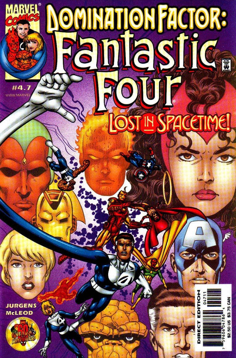 Domination Factor: Fantastic Four 4 Page 1
