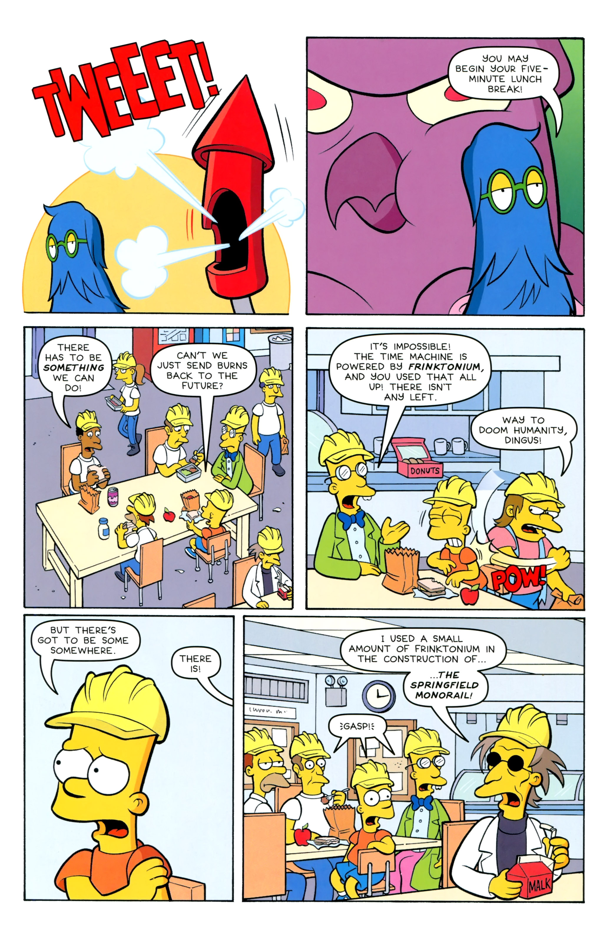 Read online Simpsons Comics Presents Bart Simpson comic -  Issue #100 - 21