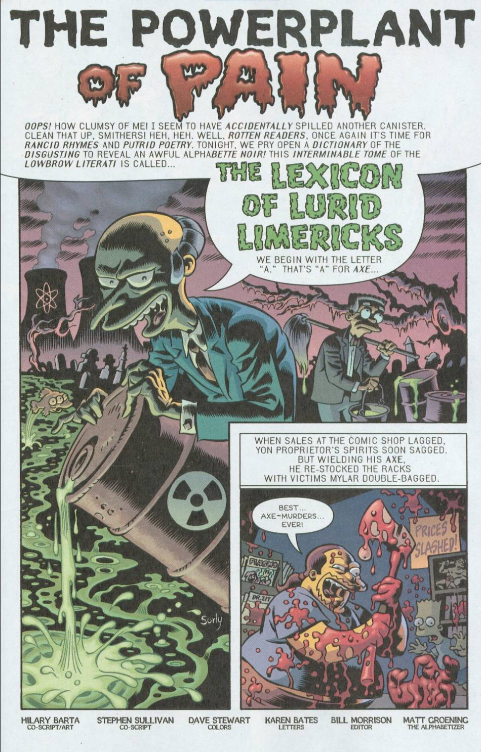 Read online Treehouse of Horror comic -  Issue #8 - 32