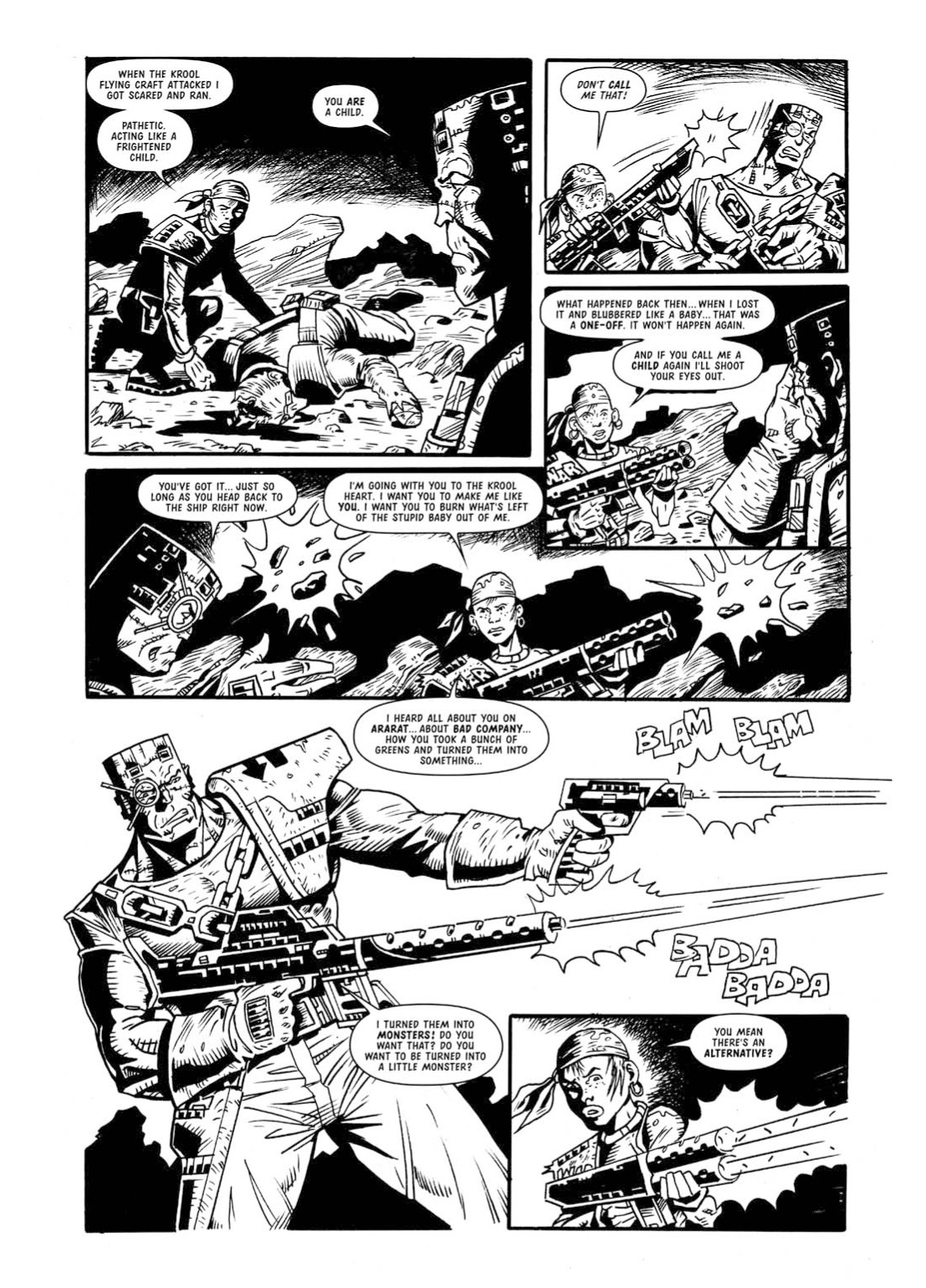 Read online The Complete Bad Company comic -  Issue # TPB - 342