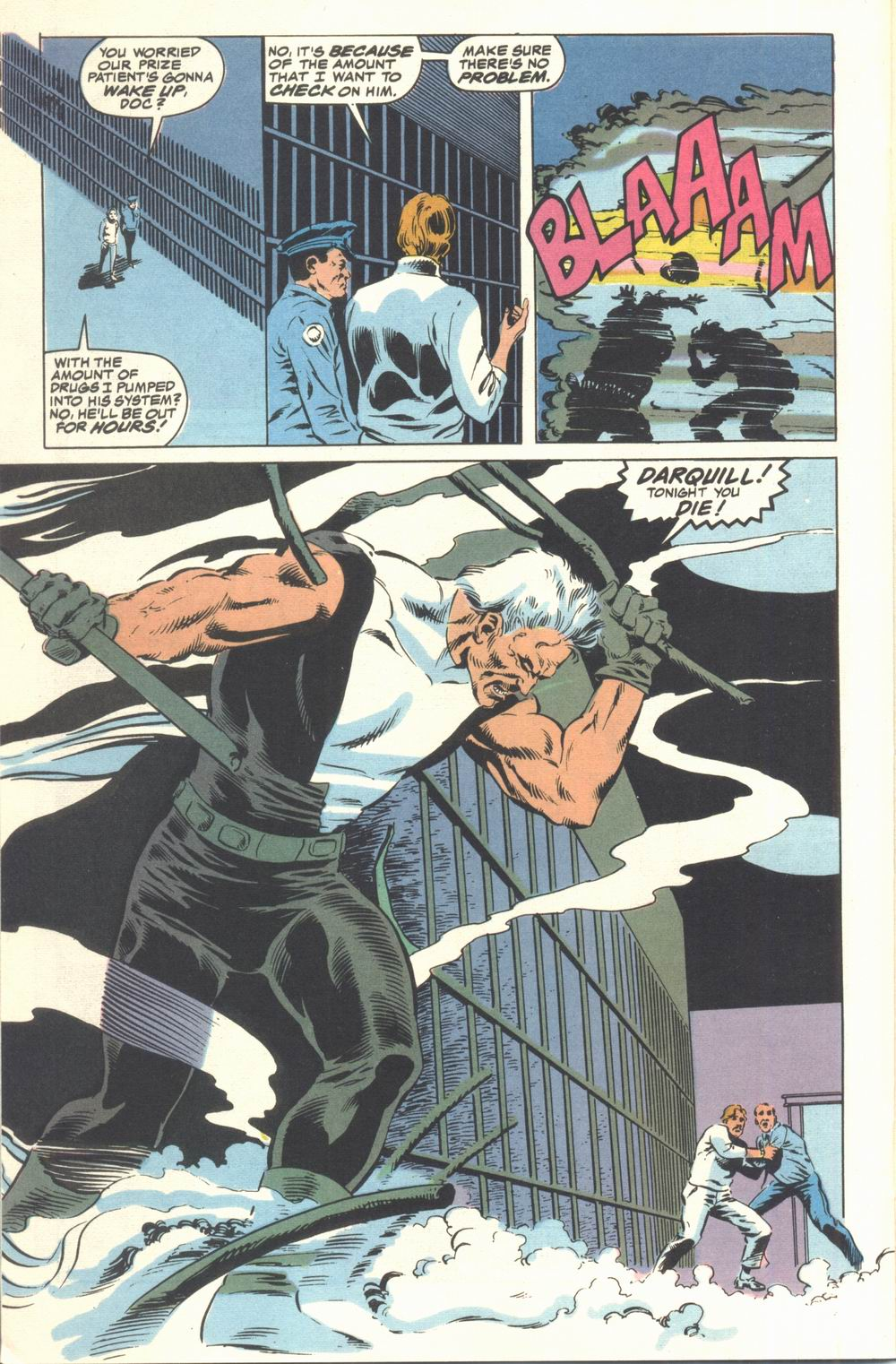 Read online Justice (1986) comic -  Issue #21 - 22