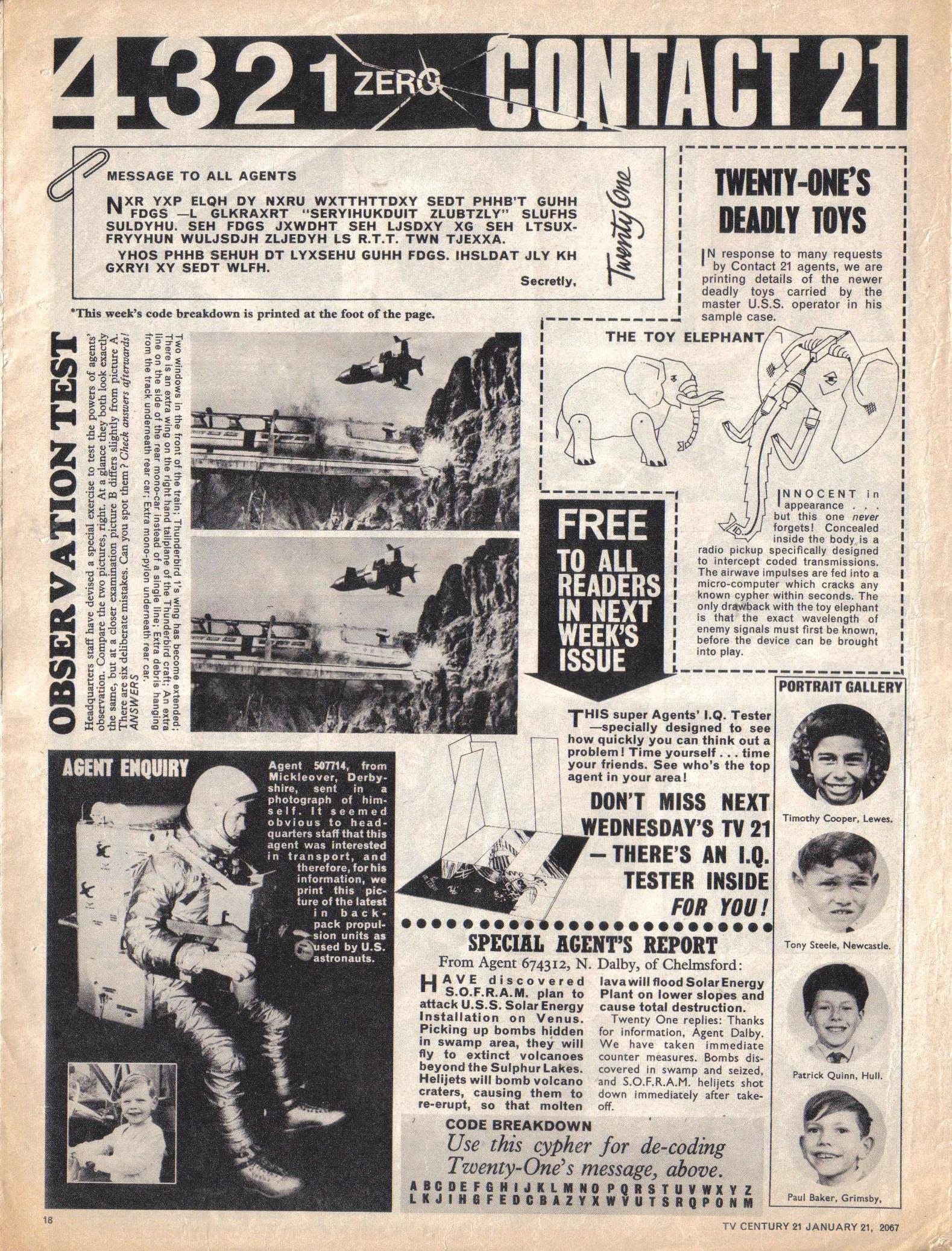 Read online TV Century 21 (TV 21) comic -  Issue #105 - 17