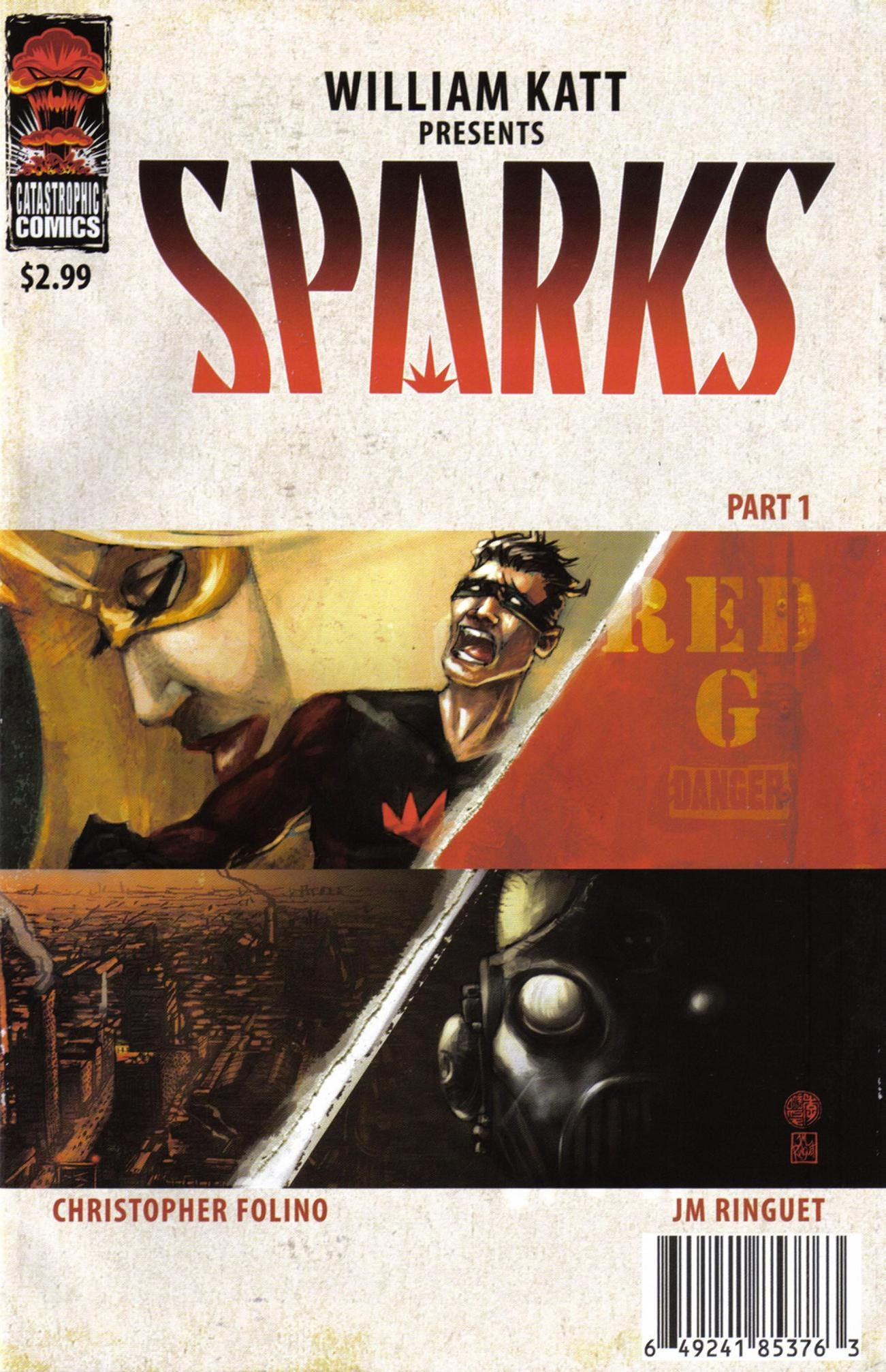 Sparks issue 1 - Page 1