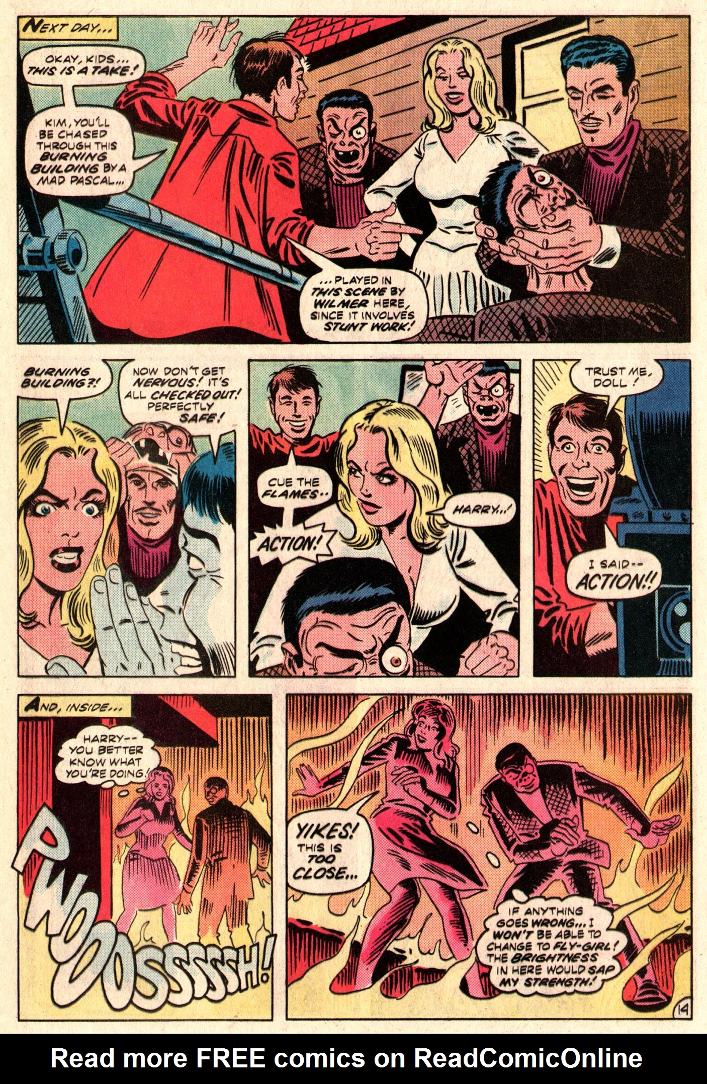 Read online The Fly (1983) comic -  Issue #3 - 15